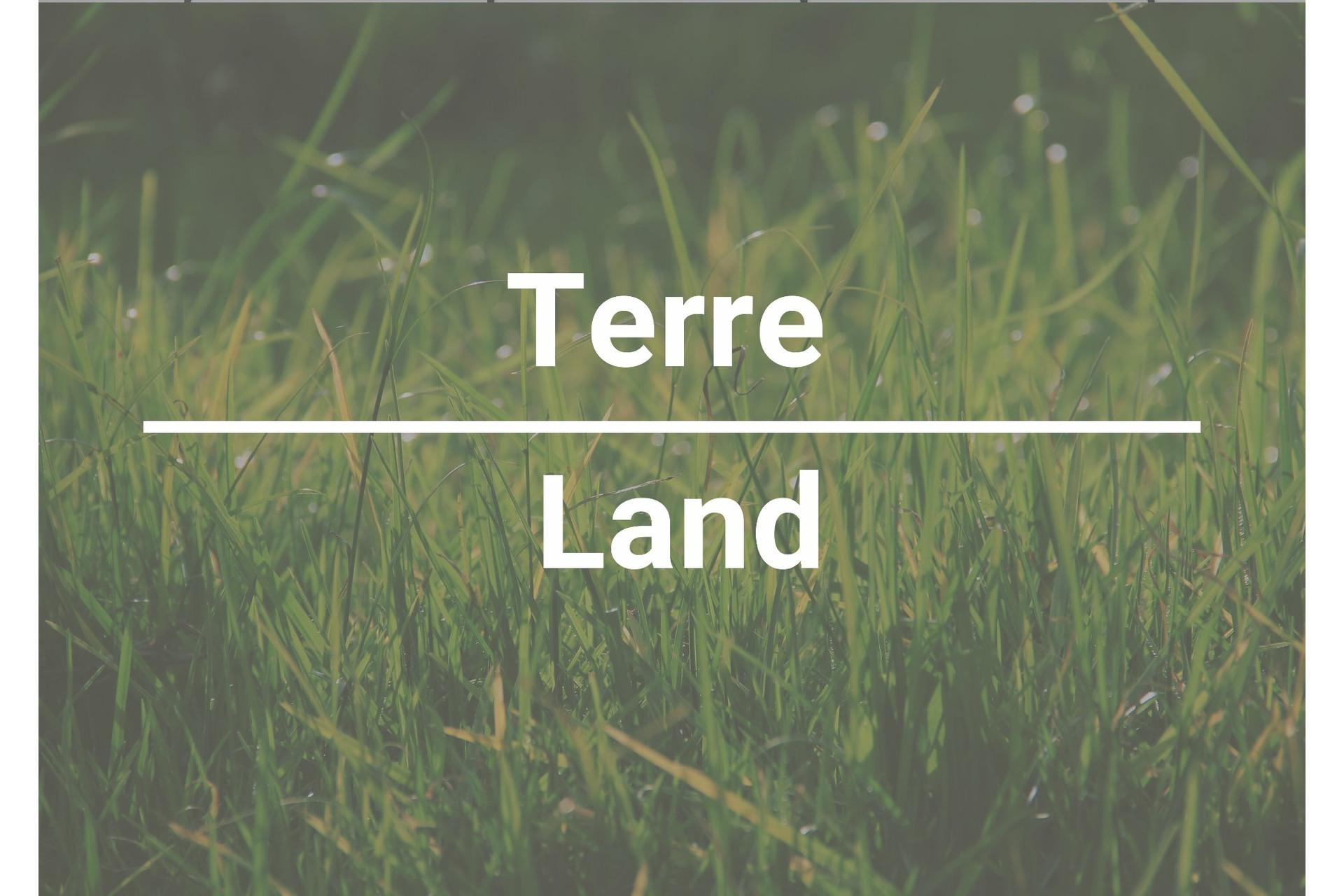 image 0 - Terrain À vendre Lac-Supérieur