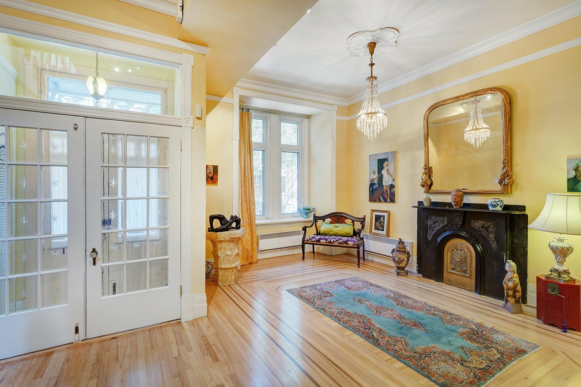 image 2 - Maison À vendre Montréal Le Plateau-Mont-Royal  - 14 pièces