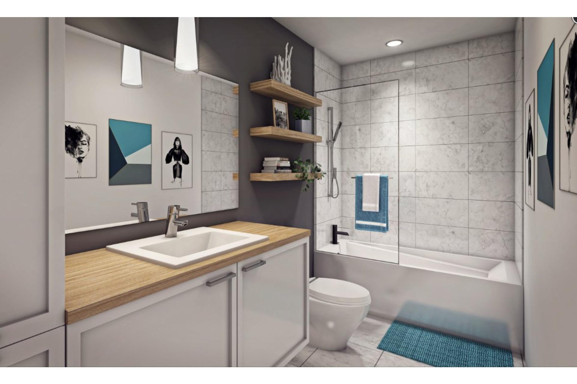 image 4 - Appartement À vendre Montréal Rosemont/La Petite-Patrie  - 6 pièces
