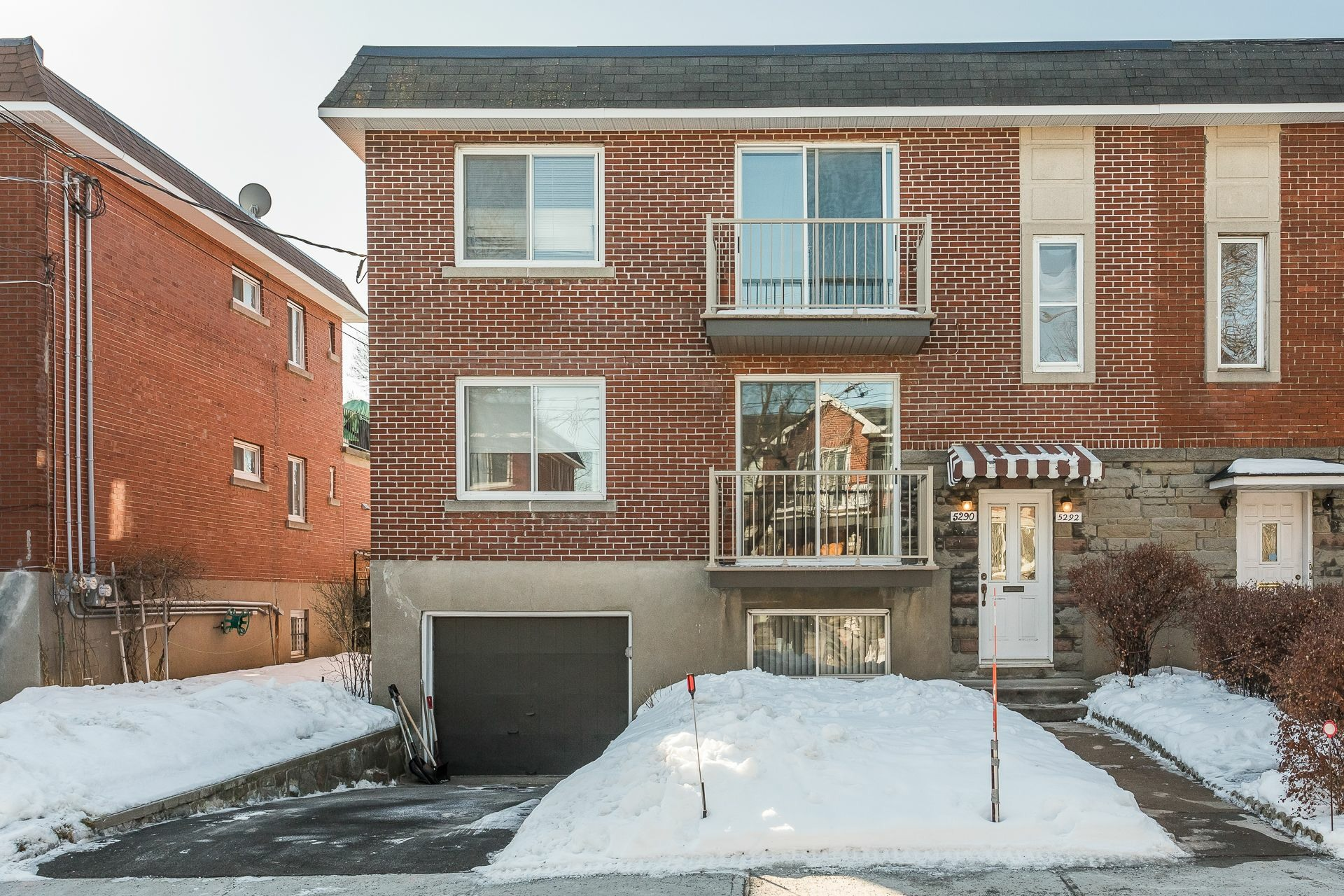 image 1 - Duplex À vendre Côte-des-Neiges/Notre-Dame-de-Grâce Montréal  - 5 pièces