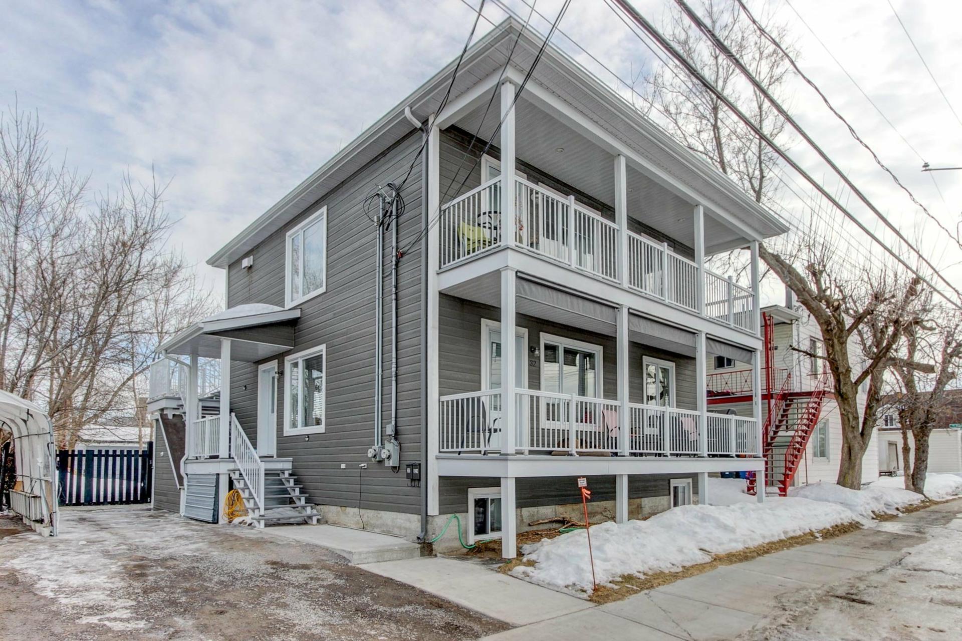 image 1 - Duplex À vendre Trois-Rivières - 8 pièces
