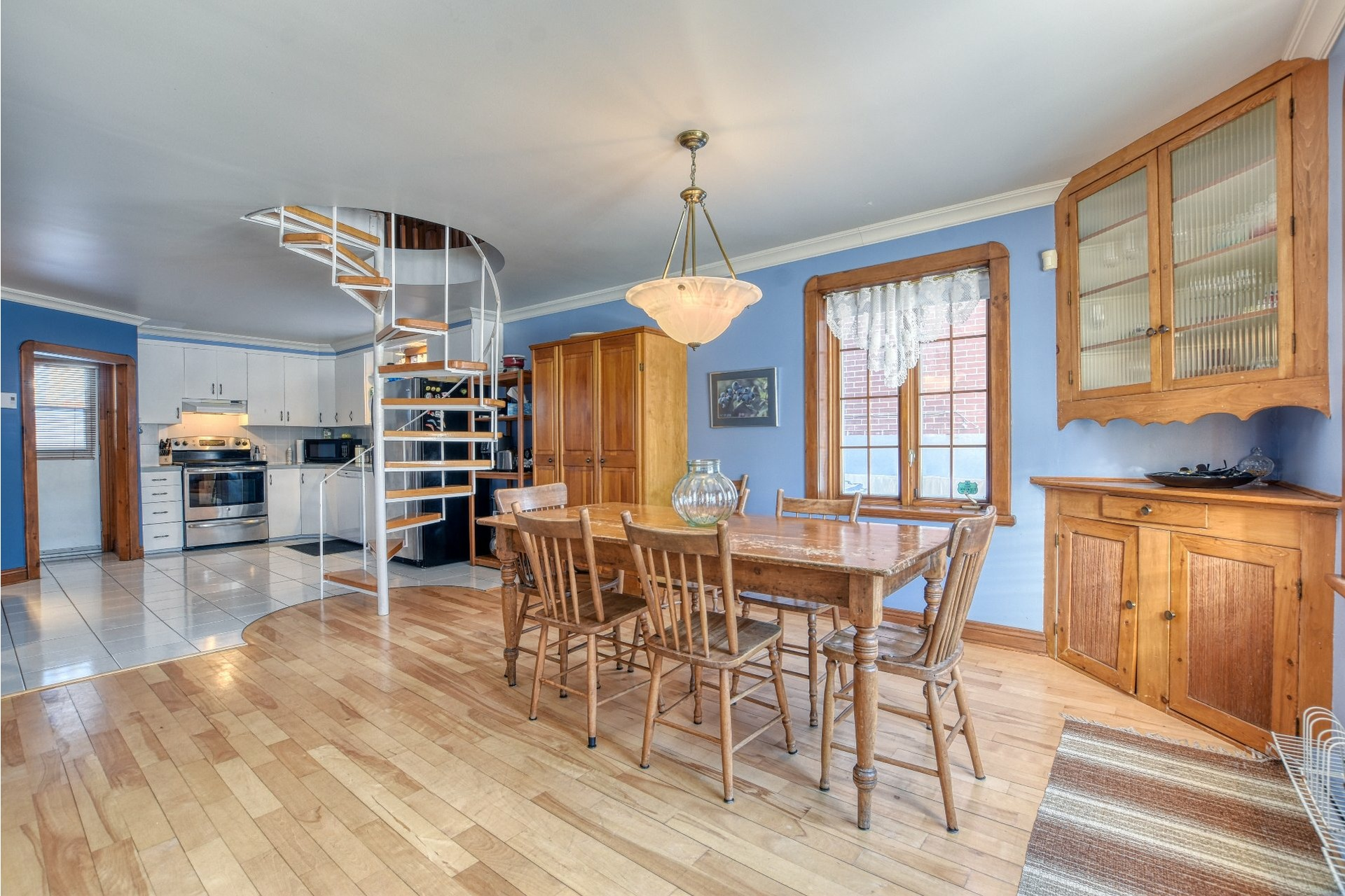 image 2 - House For sale Saint-Laurent Montréal  - 10 rooms
