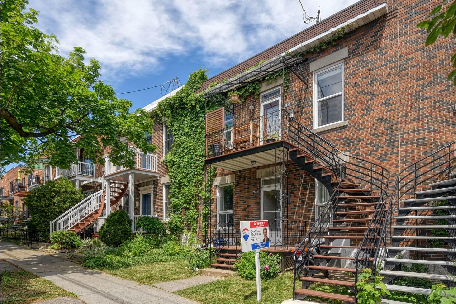image 1 - Duplex À vendre Rosemont/La Petite-Patrie Montréal  - 6 pièces