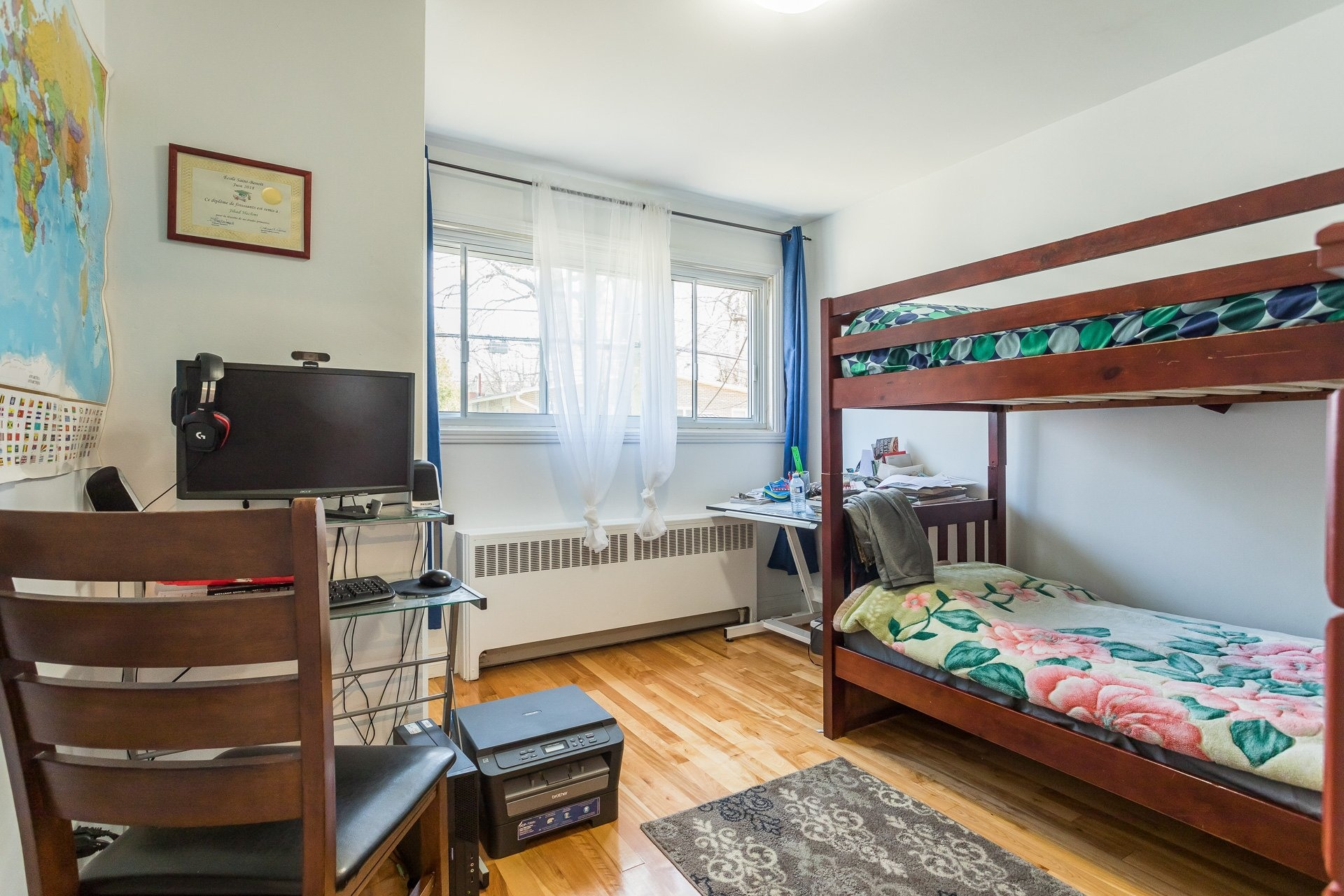 image 11 - Duplex For sale Ahuntsic-Cartierville Montréal  - 8 rooms