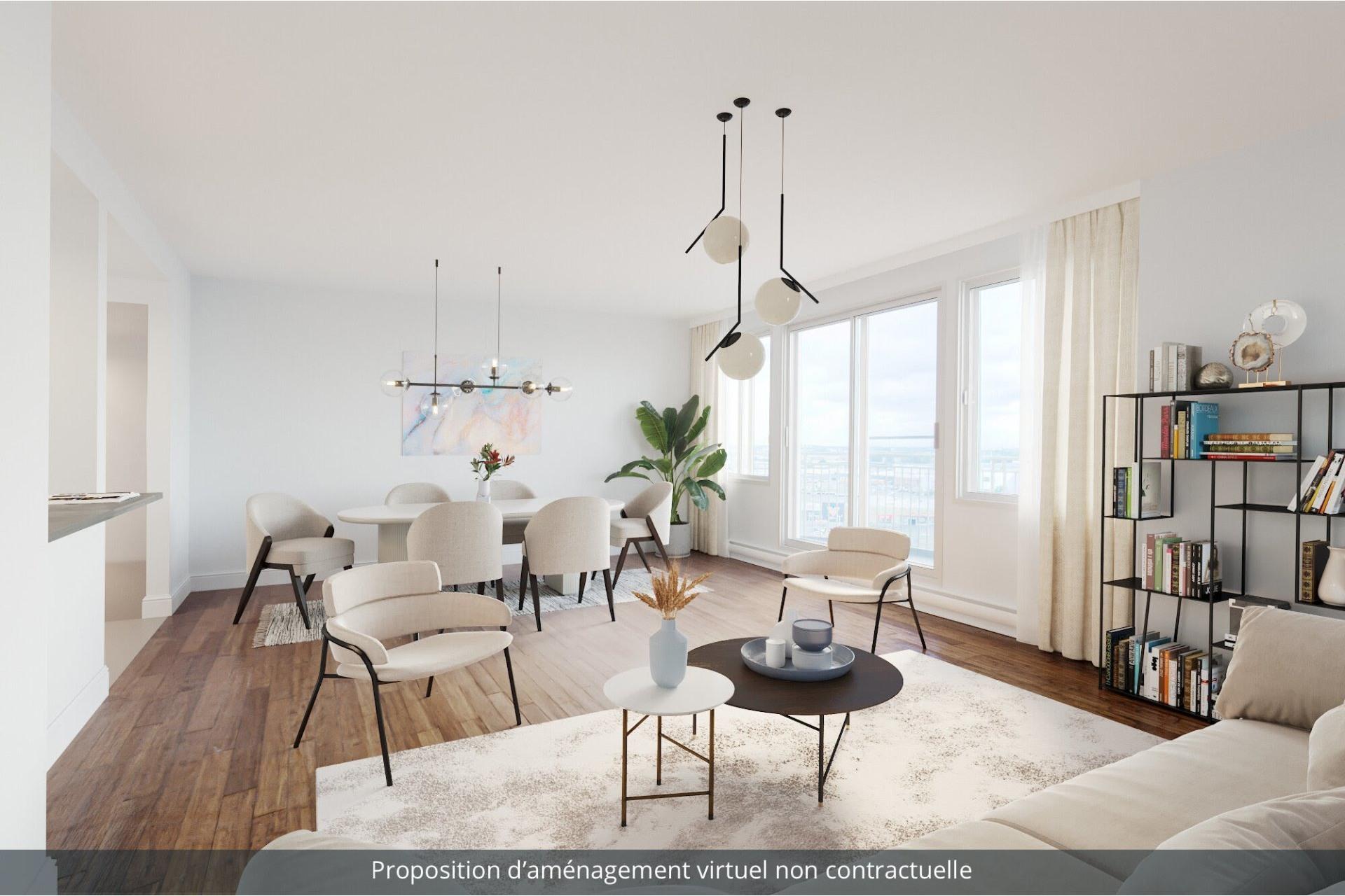 image 0 - Apartment For rent Saint-Laurent Montréal  - 8 rooms
