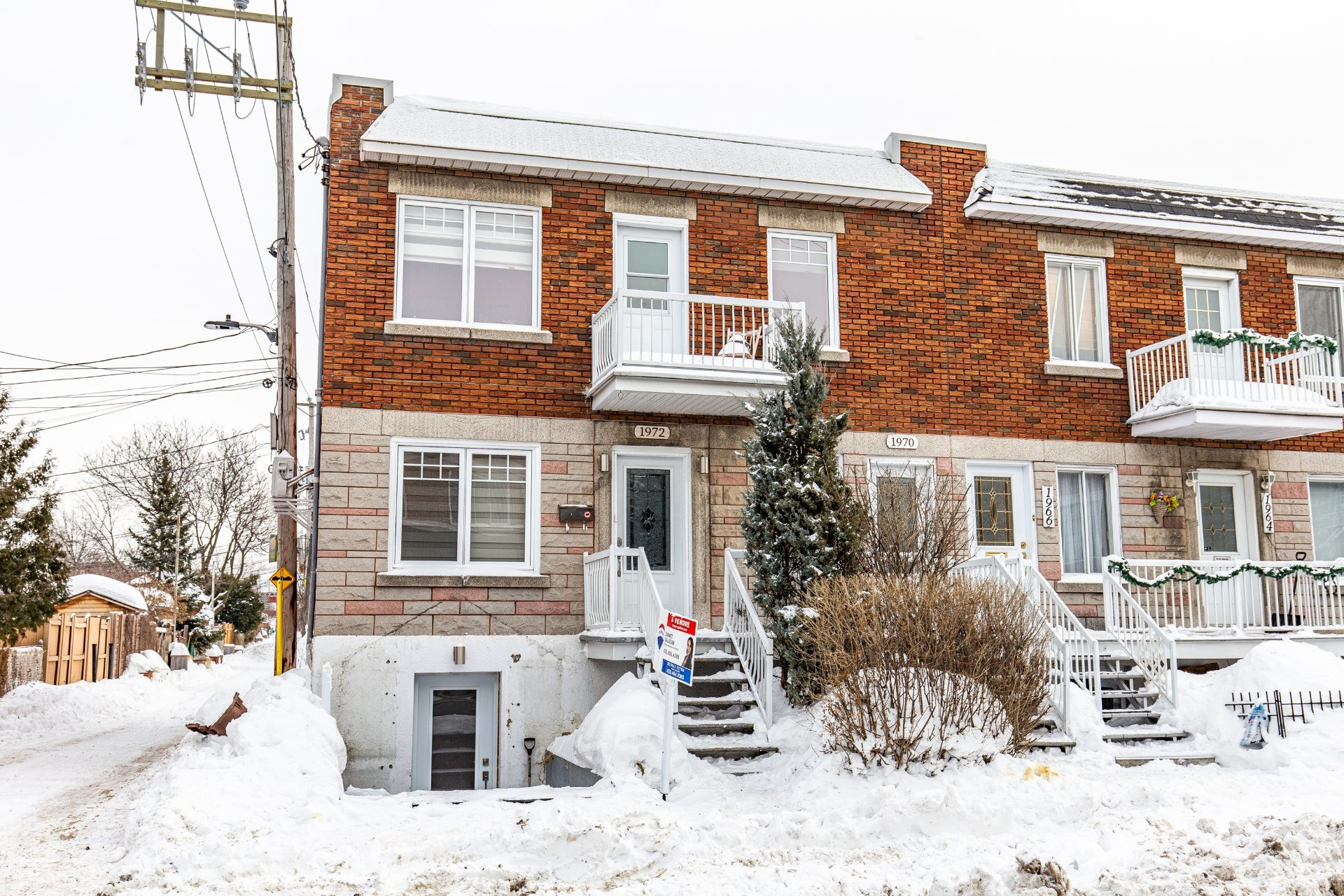 image 0 - Duplex À vendre Villeray/Saint-Michel/Parc-Extension Montréal  - 5 pièces