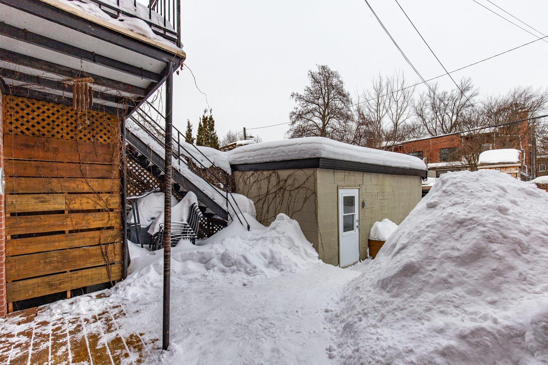 image 32 - Duplex À vendre Villeray/Saint-Michel/Parc-Extension Montréal  - 5 pièces