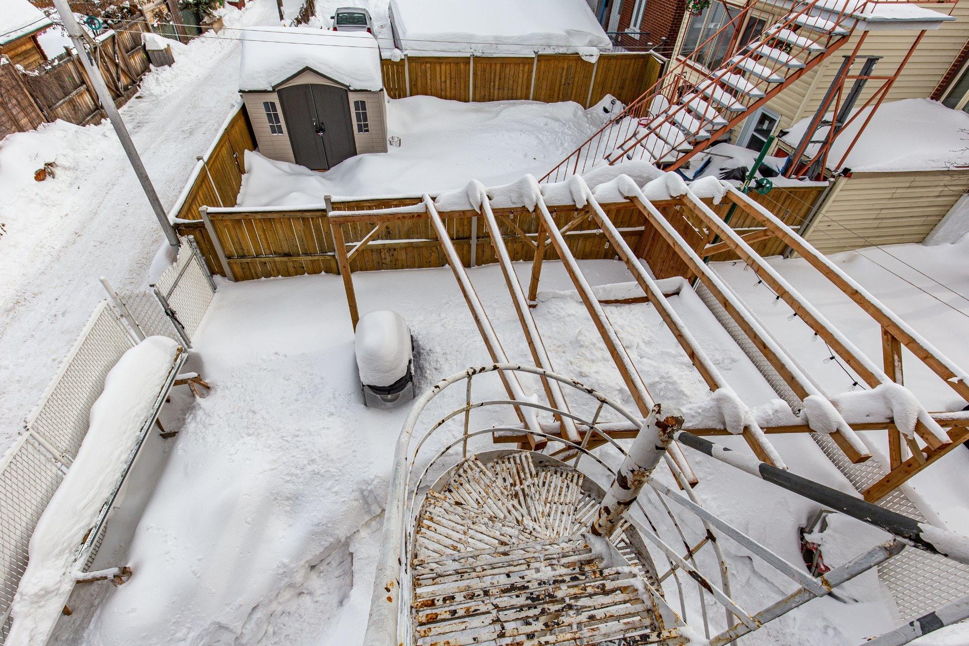 image 31 - Duplex À vendre Villeray/Saint-Michel/Parc-Extension Montréal  - 5 pièces