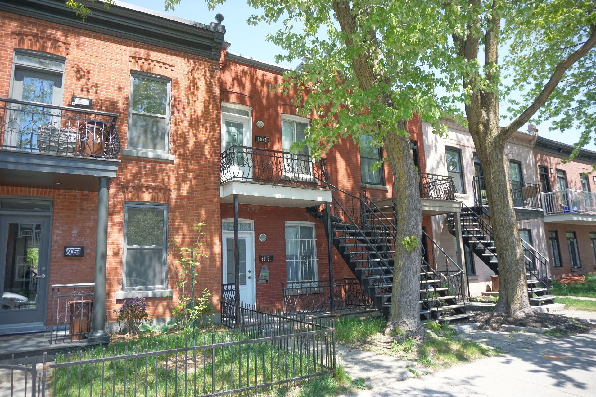 image 1 - Duplex À vendre Rosemont/La Petite-Patrie Montréal  - 4 pièces