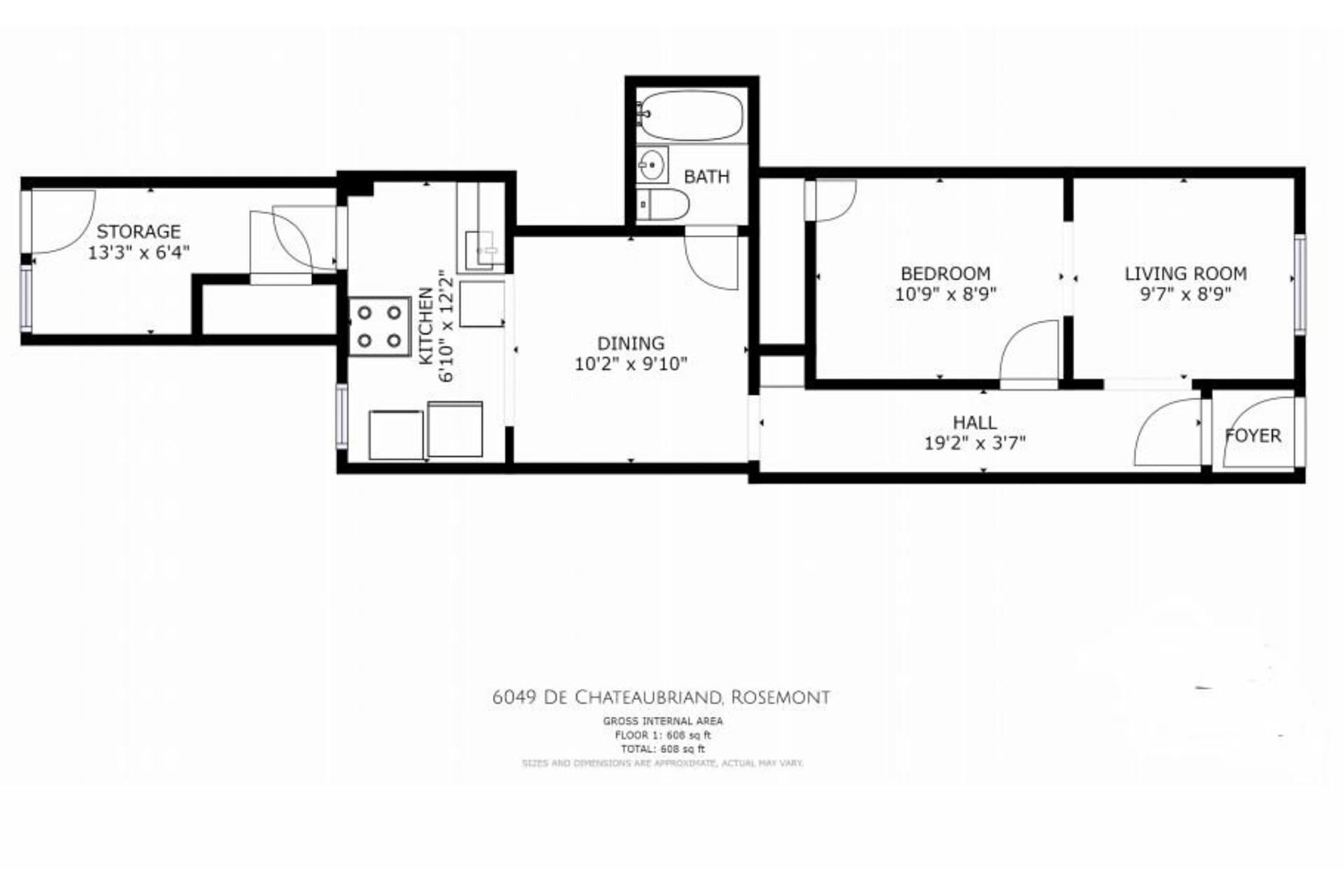 image 21 - Duplex À vendre Rosemont/La Petite-Patrie Montréal  - 4 pièces