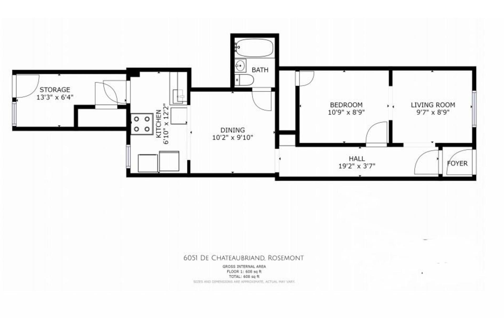 image 6 - Duplex À vendre Rosemont/La Petite-Patrie Montréal  - 4 pièces