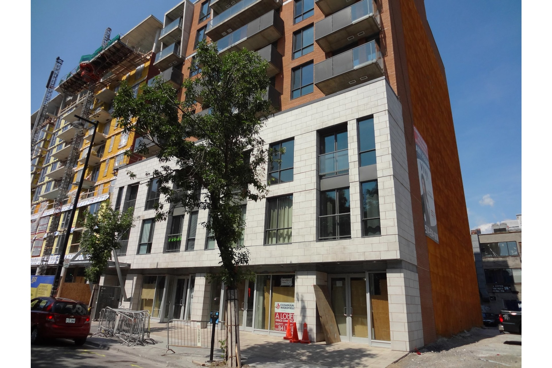 image 0 - Apartment For rent Ville-Marie Montréal  - 4 rooms