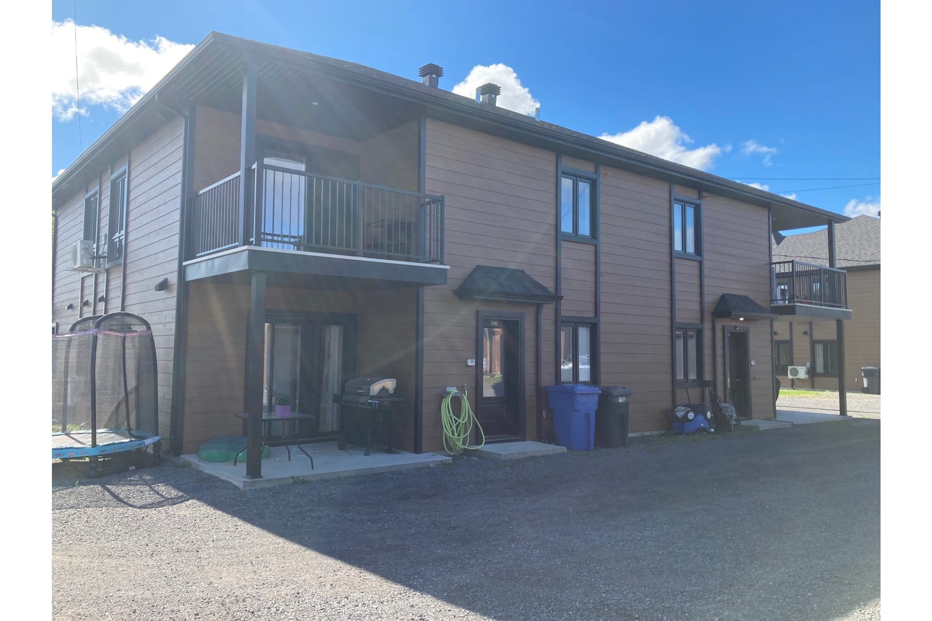 image 2 - Quadruplex For sale Saint-Ambroise-de-Kildare - 4 rooms
