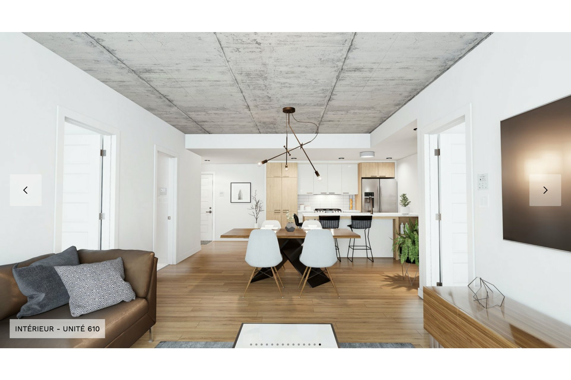 image 2 - Apartment For rent Chomedey Laval  - 3 rooms