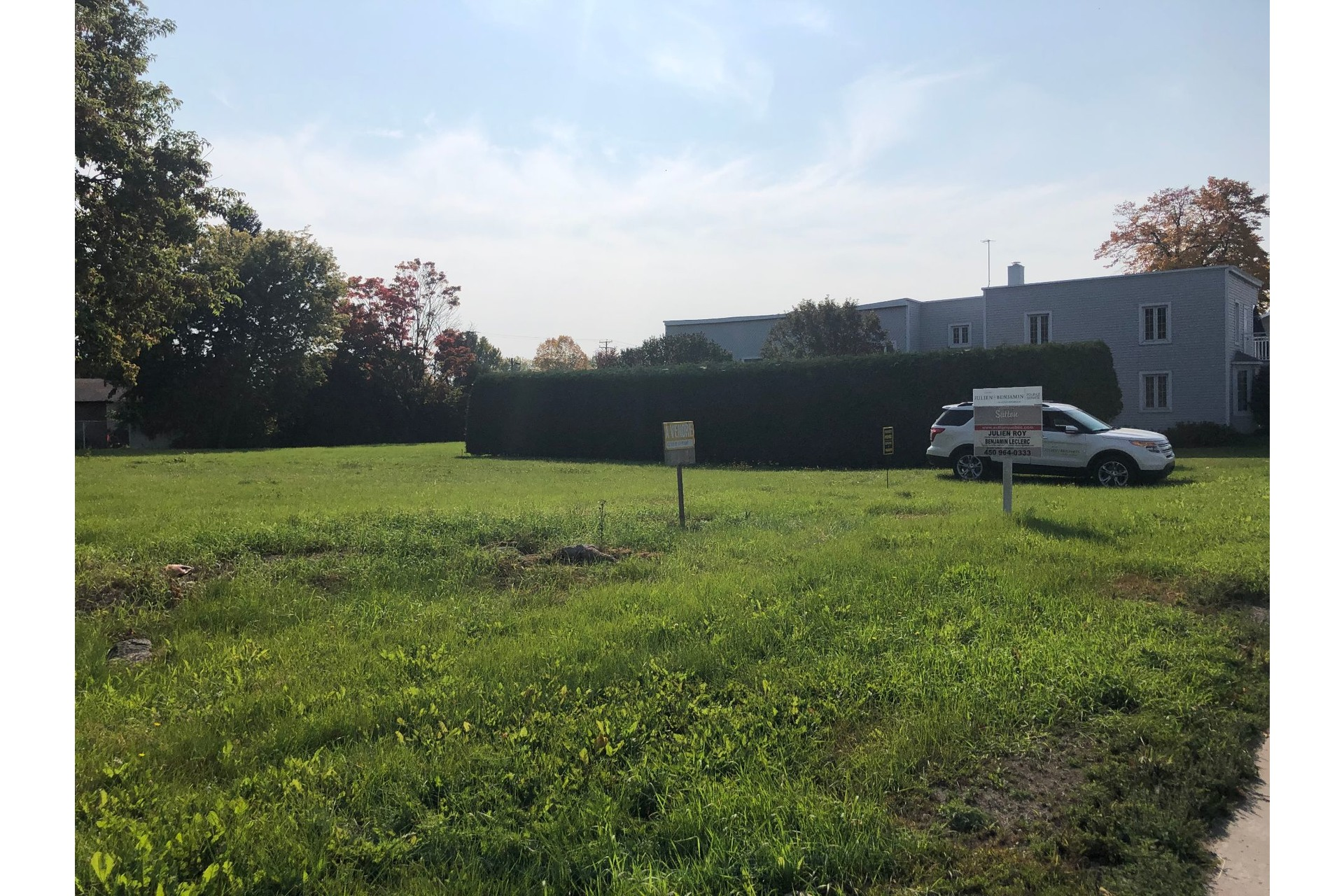 image 2 - Land For sale Saint-Lin/Laurentides