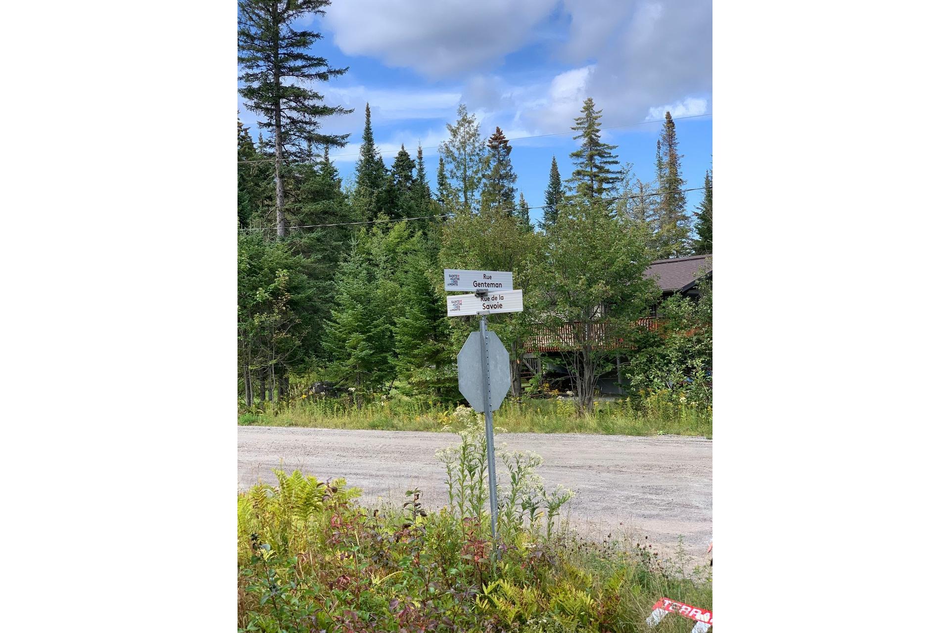 image 1 - Land For sale Sainte-Agathe-des-Monts
