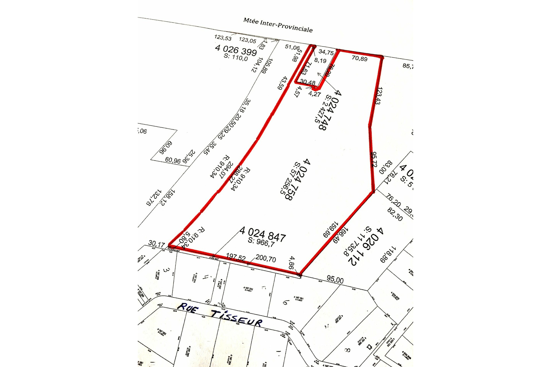 image 1 - Land For sale Pointe-Fortune