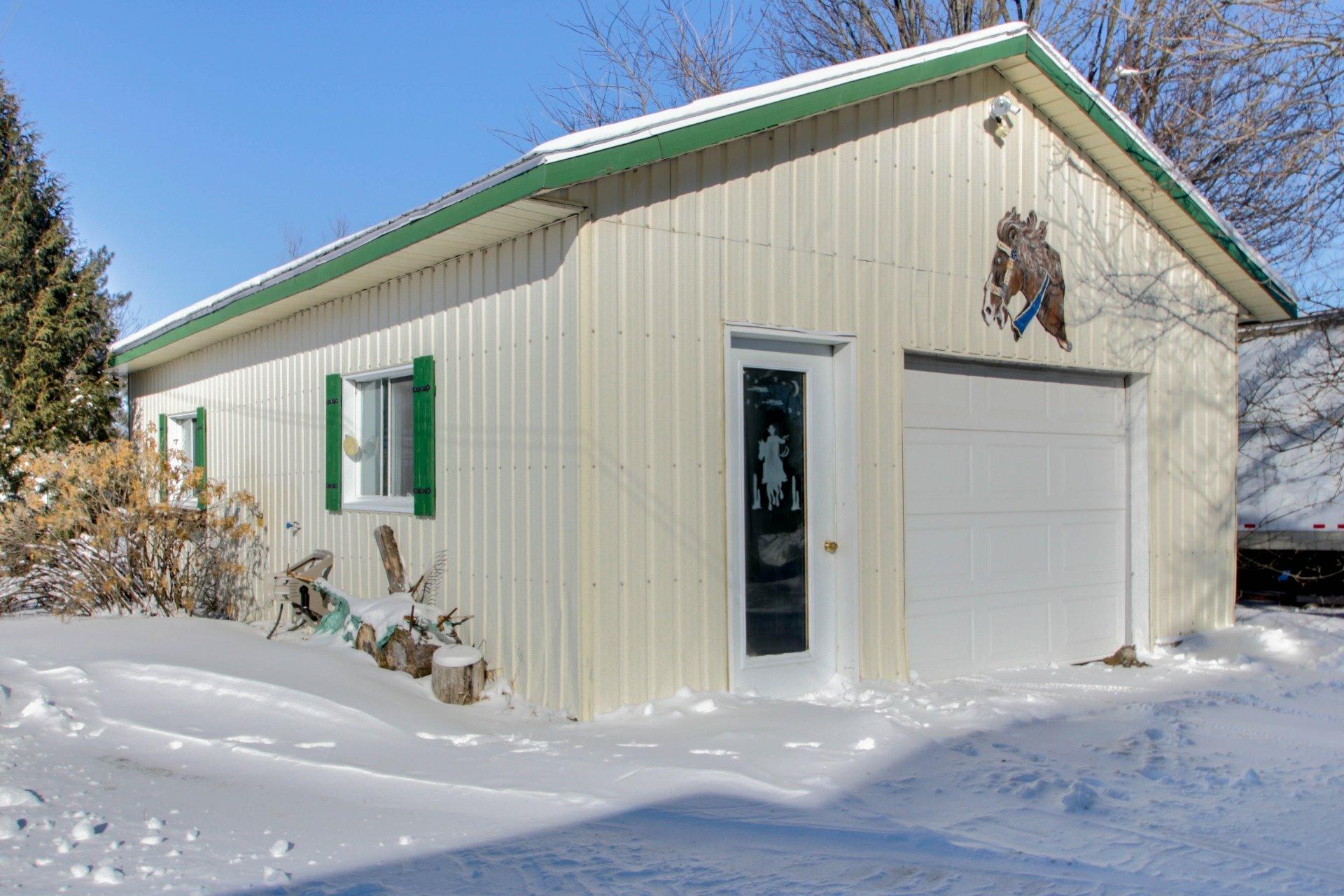 image 29 - Farmhouse For sale Sainte-Marie-de-Blandford - 8 rooms