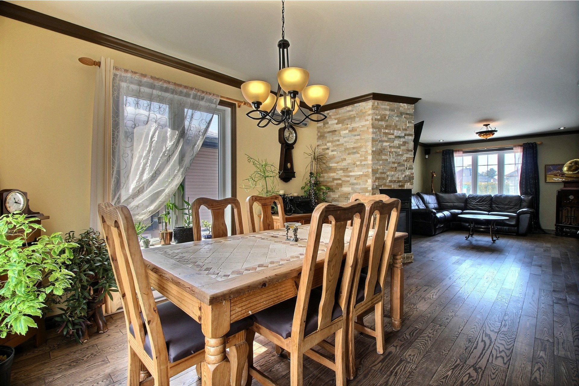 image 8 - House For sale Notre-Dame-des-Prairies - 12 rooms