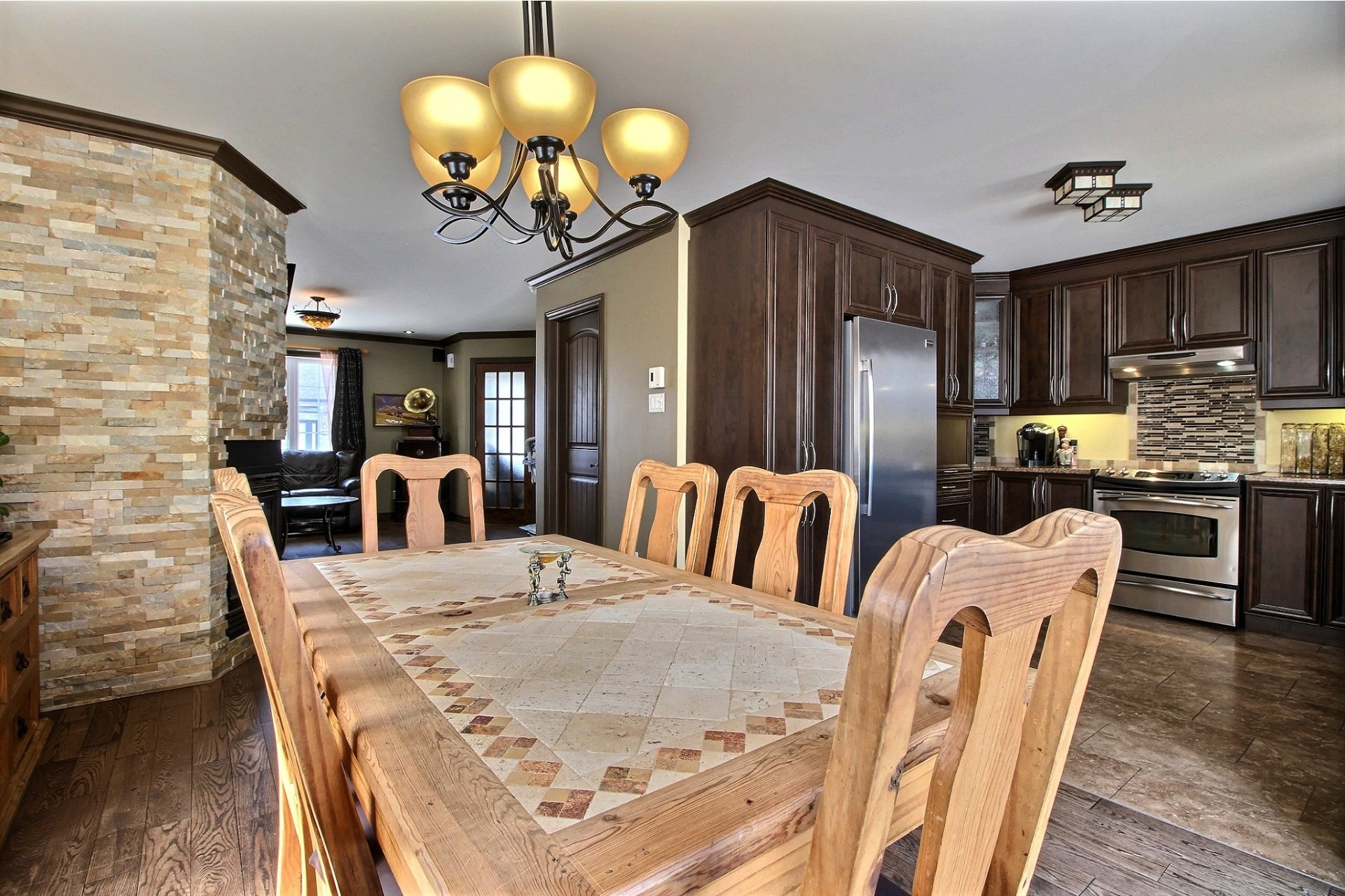 image 9 - House For sale Notre-Dame-des-Prairies - 12 rooms