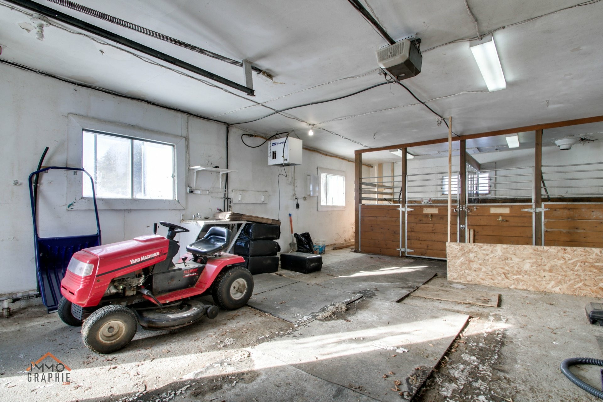 image 40 - Farmhouse For sale Sainte-Marie-de-Blandford - 8 rooms