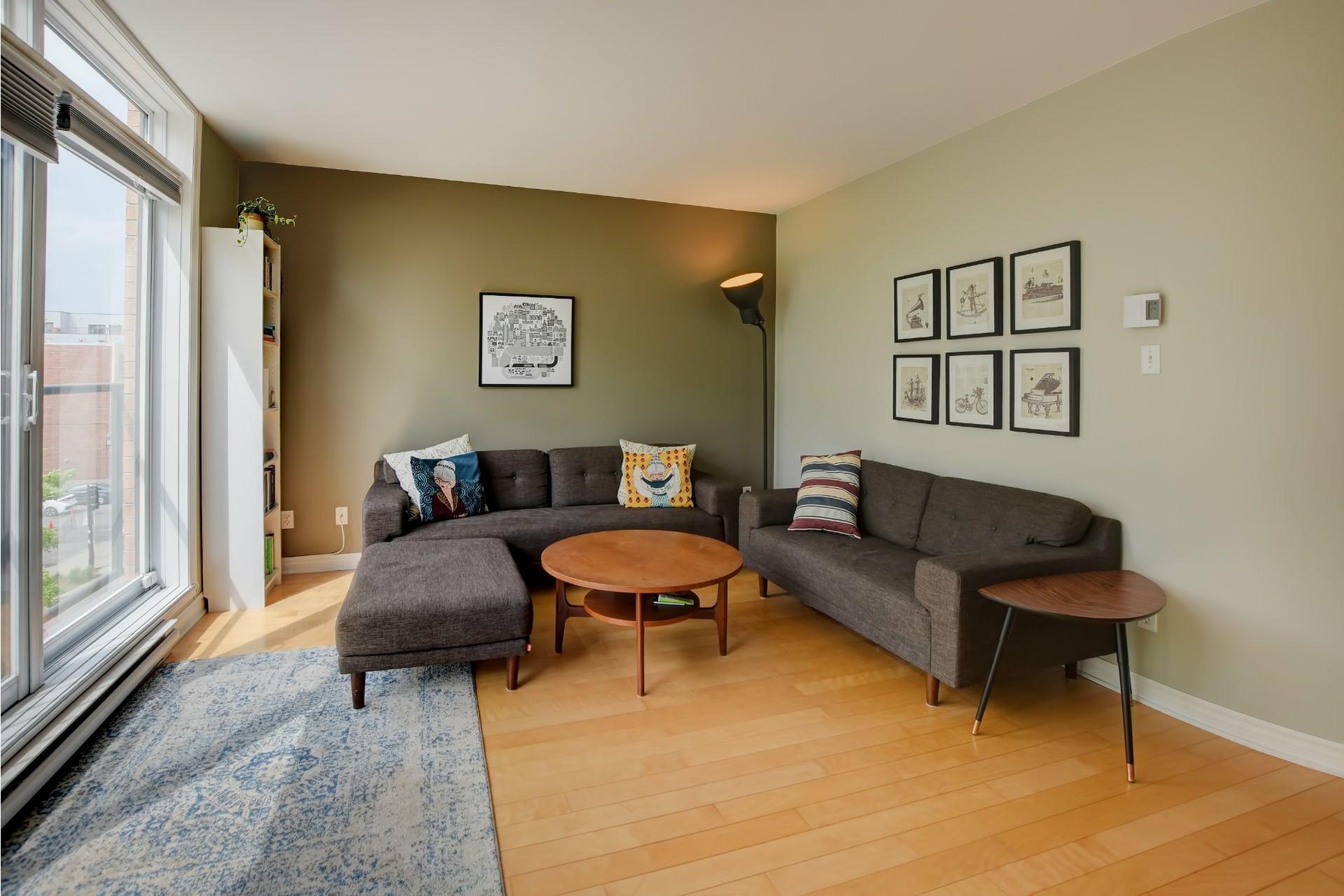 image 2 - Apartment For sale Mercier/Hochelaga-Maisonneuve Montréal  - 6 rooms