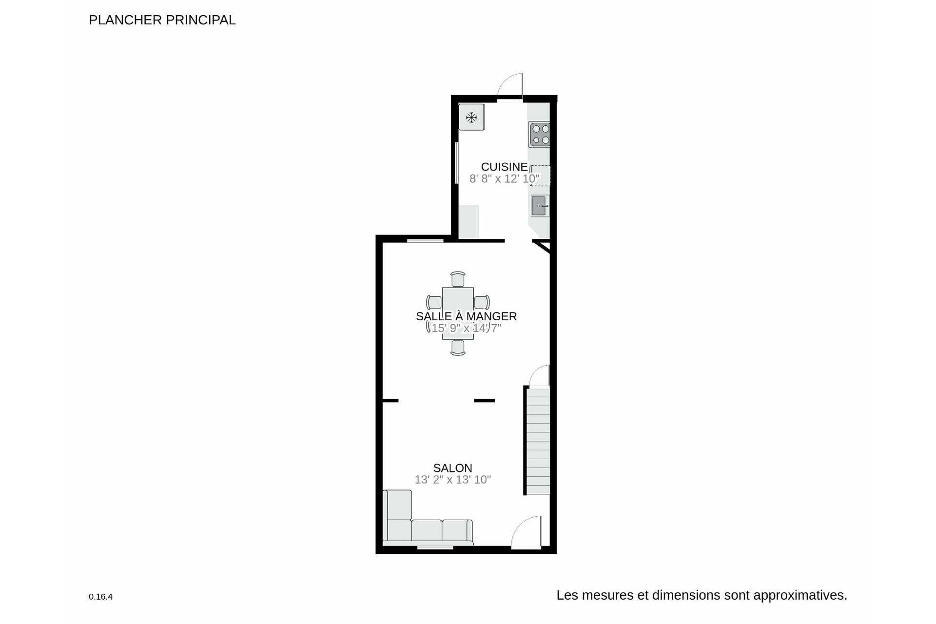 image 23 - Maison À vendre Le Sud-Ouest Montréal  - 6 pièces