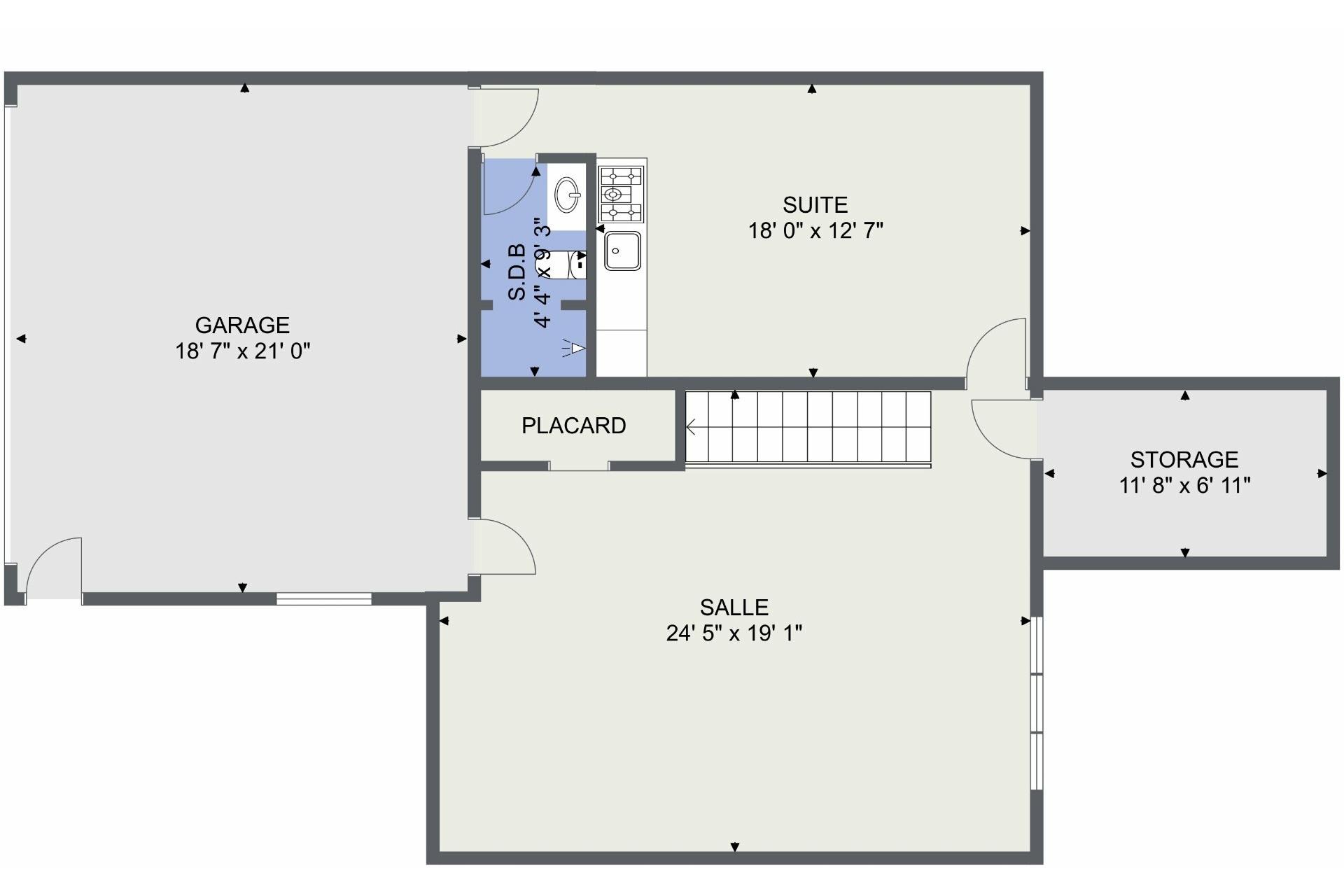 image 42 - Duplex À vendre Saint-Laurent Montréal  - 5 pièces