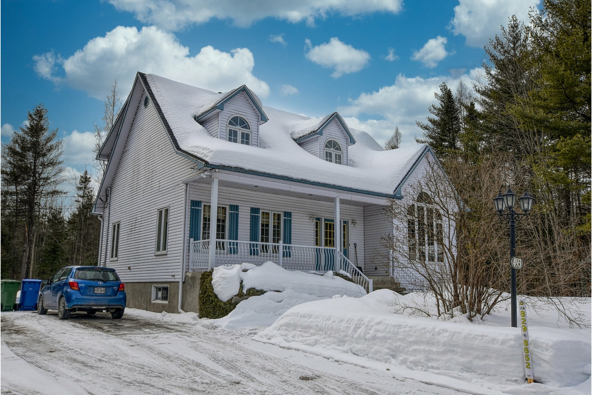 image 37 - House For sale Sainte-Sophie - 14 rooms