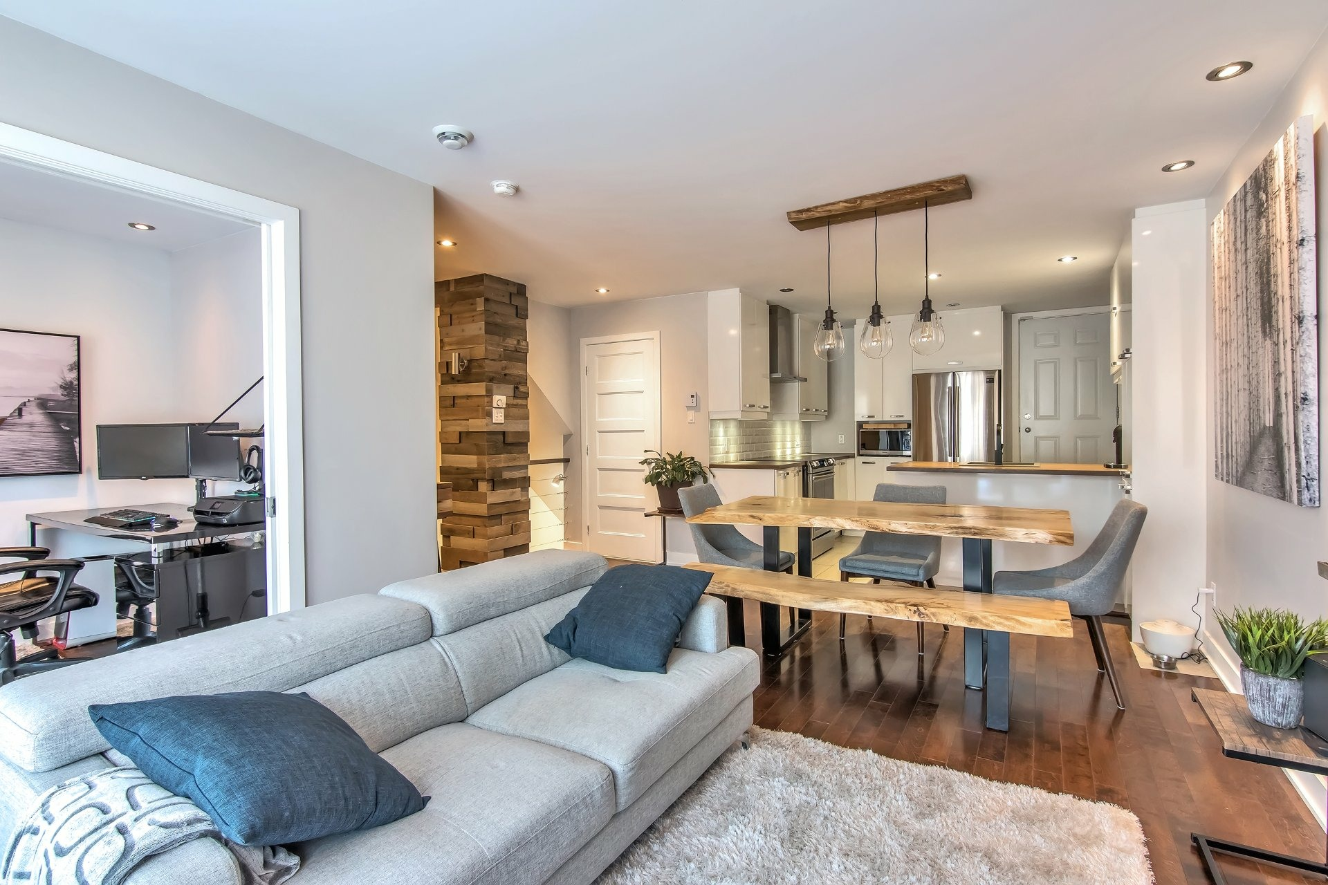 image 1 - Apartment For sale Rosemont/La Petite-Patrie Montréal  - 7 rooms