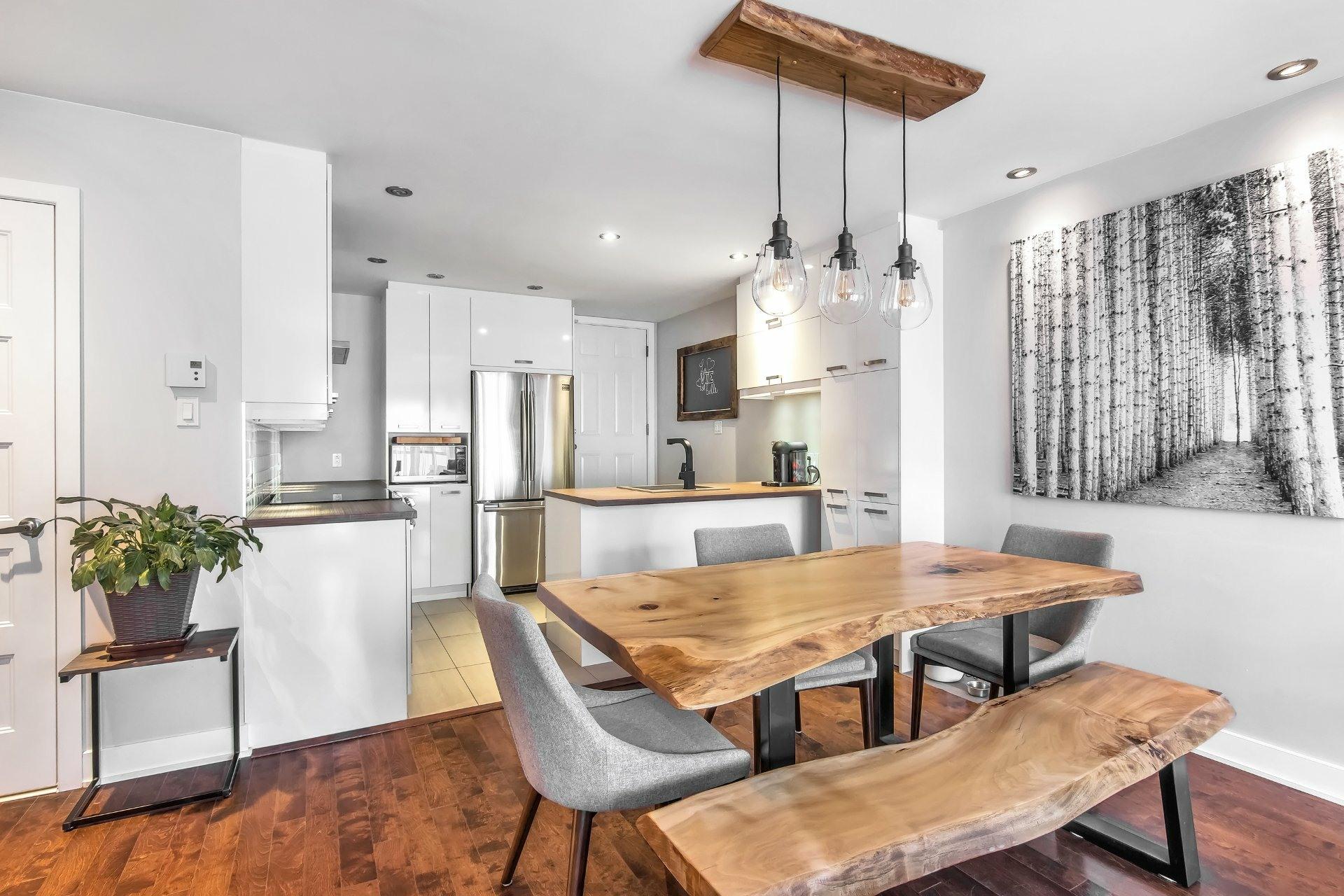 image 2 - Apartment For sale Rosemont/La Petite-Patrie Montréal  - 7 rooms