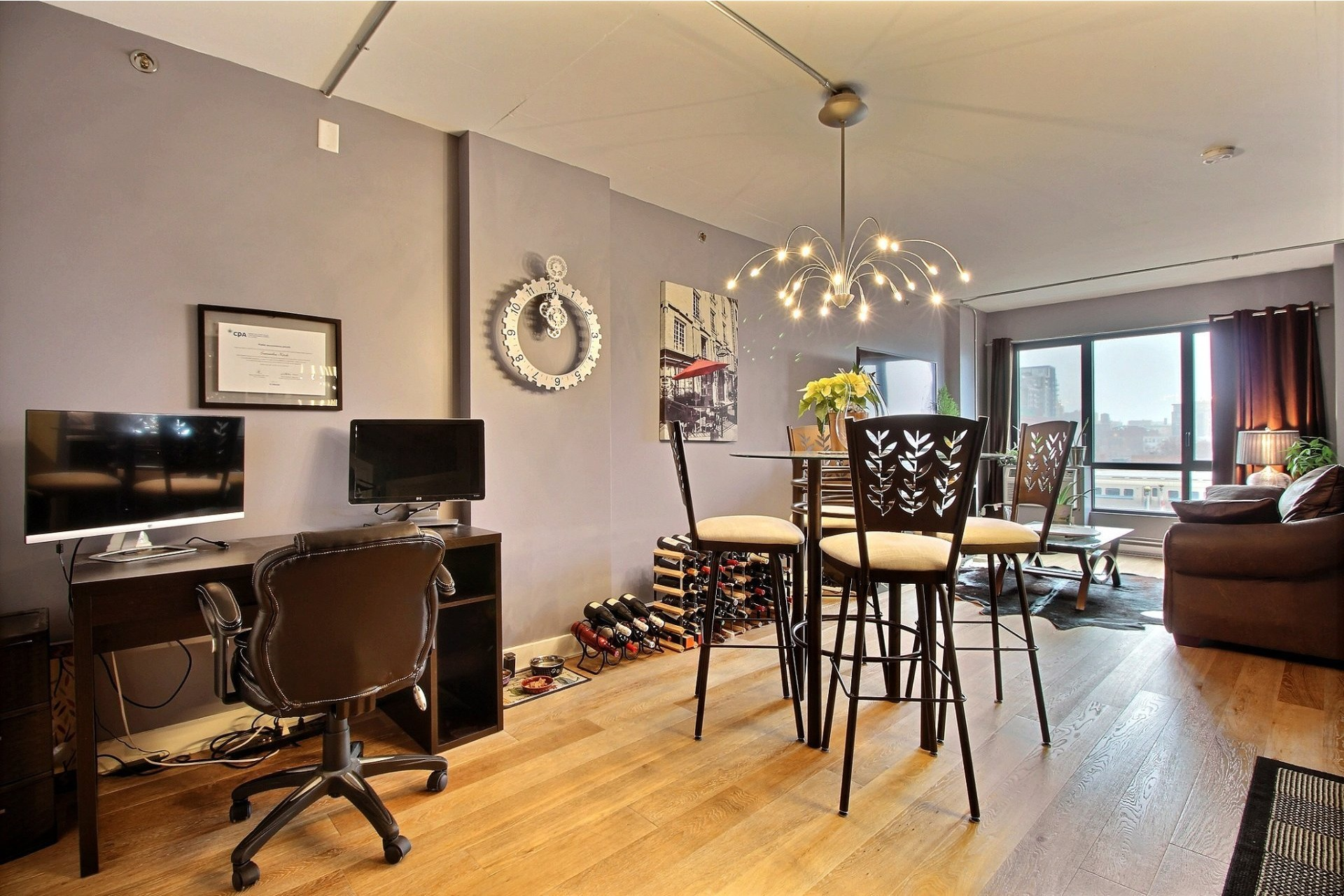 image 10 - Appartement À vendre Le Sud-Ouest Montréal  - 4 pièces