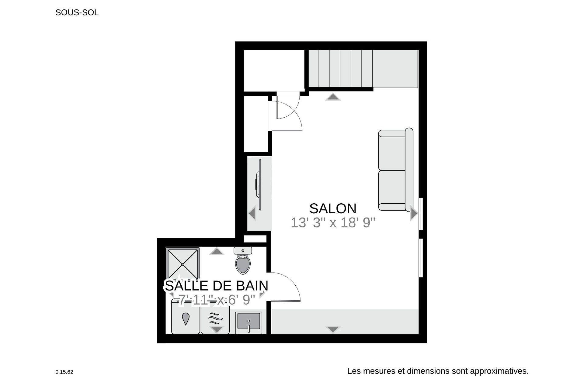 image 27 - House For sale Verdun/Île-des-Soeurs Montréal  - 9 rooms