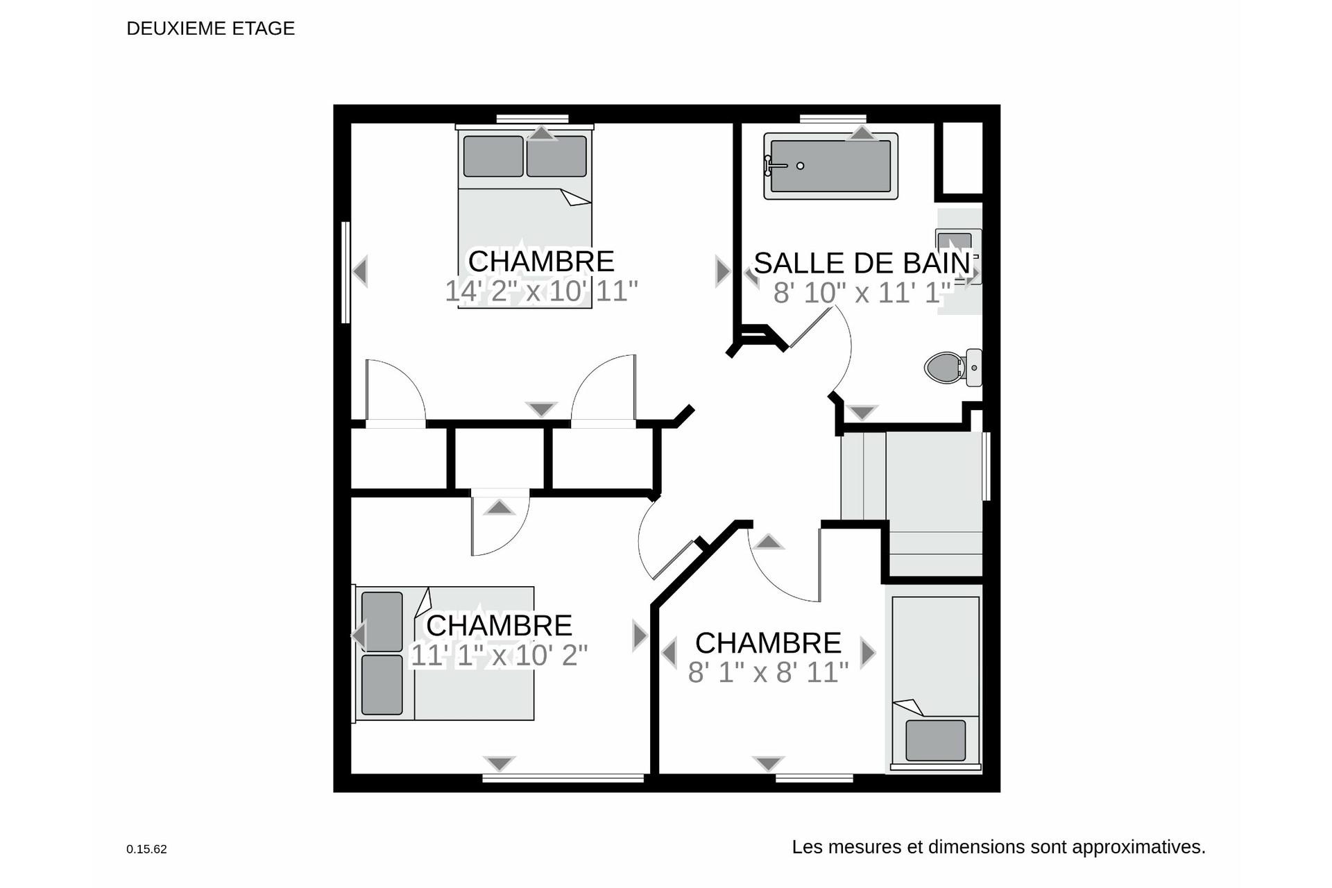 image 26 - House For sale Verdun/Île-des-Soeurs Montréal  - 9 rooms