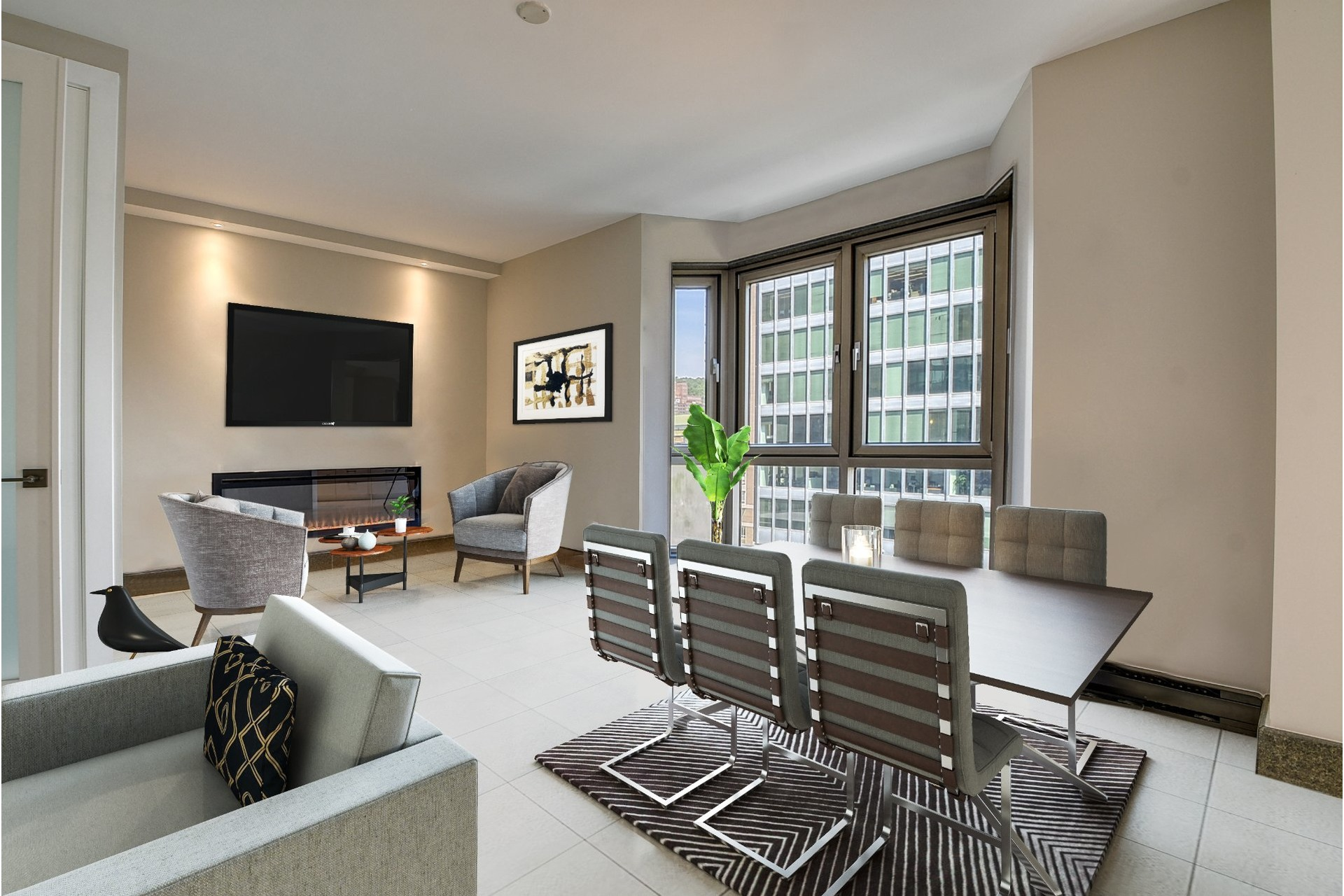 image 2 - Apartment For sale Westmount - 7 rooms
