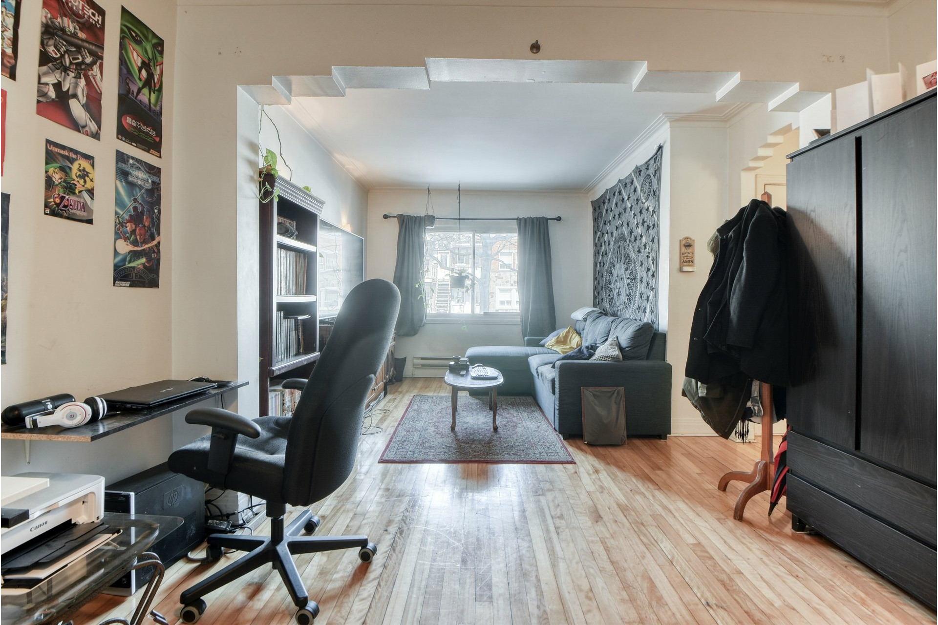 image 2 - Quintuplex For sale Mercier/Hochelaga-Maisonneuve Montréal  - 6 rooms