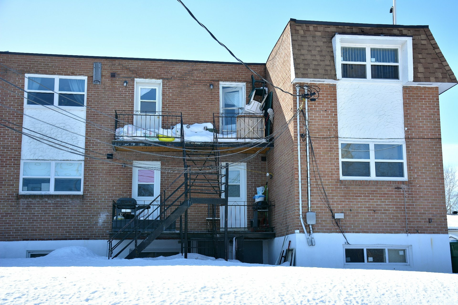 image 2 - Income property For sale Pierrefonds-Roxboro Montréal  - 4 rooms