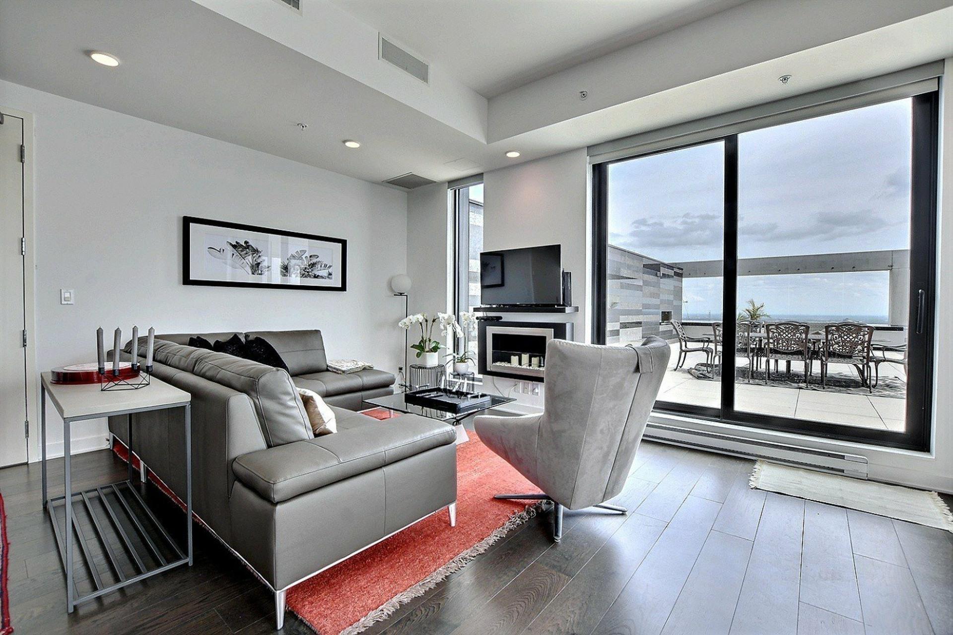 image 3 - Apartment For sale Ville-Marie Montréal  - 7 rooms