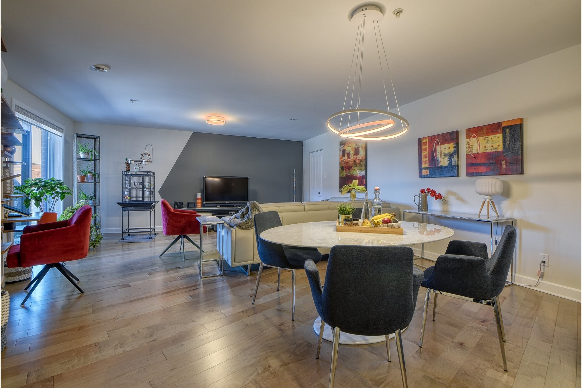 image 1 - Apartment For sale Le Sud-Ouest Montréal  - 6 rooms