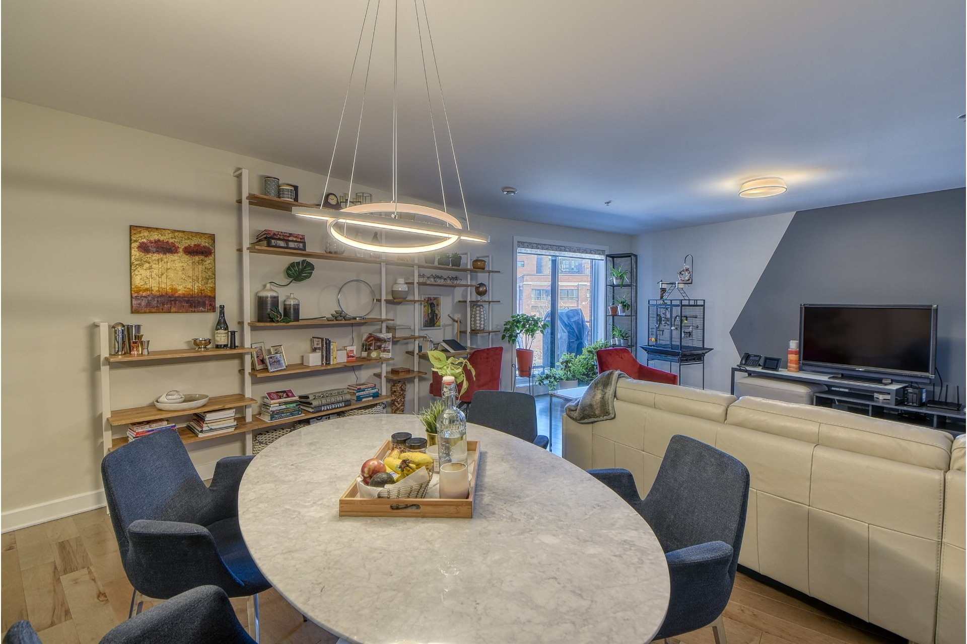 image 2 - Apartment For sale Le Sud-Ouest Montréal  - 6 rooms