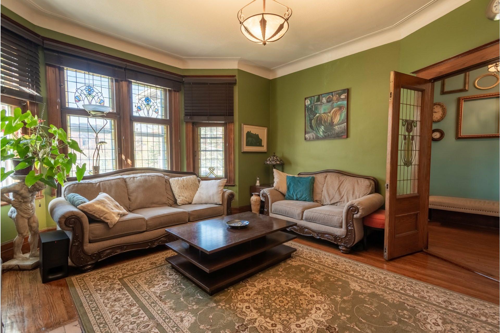 image 2 - House For sale Côte-des-Neiges/Notre-Dame-de-Grâce Montréal  - 13 rooms