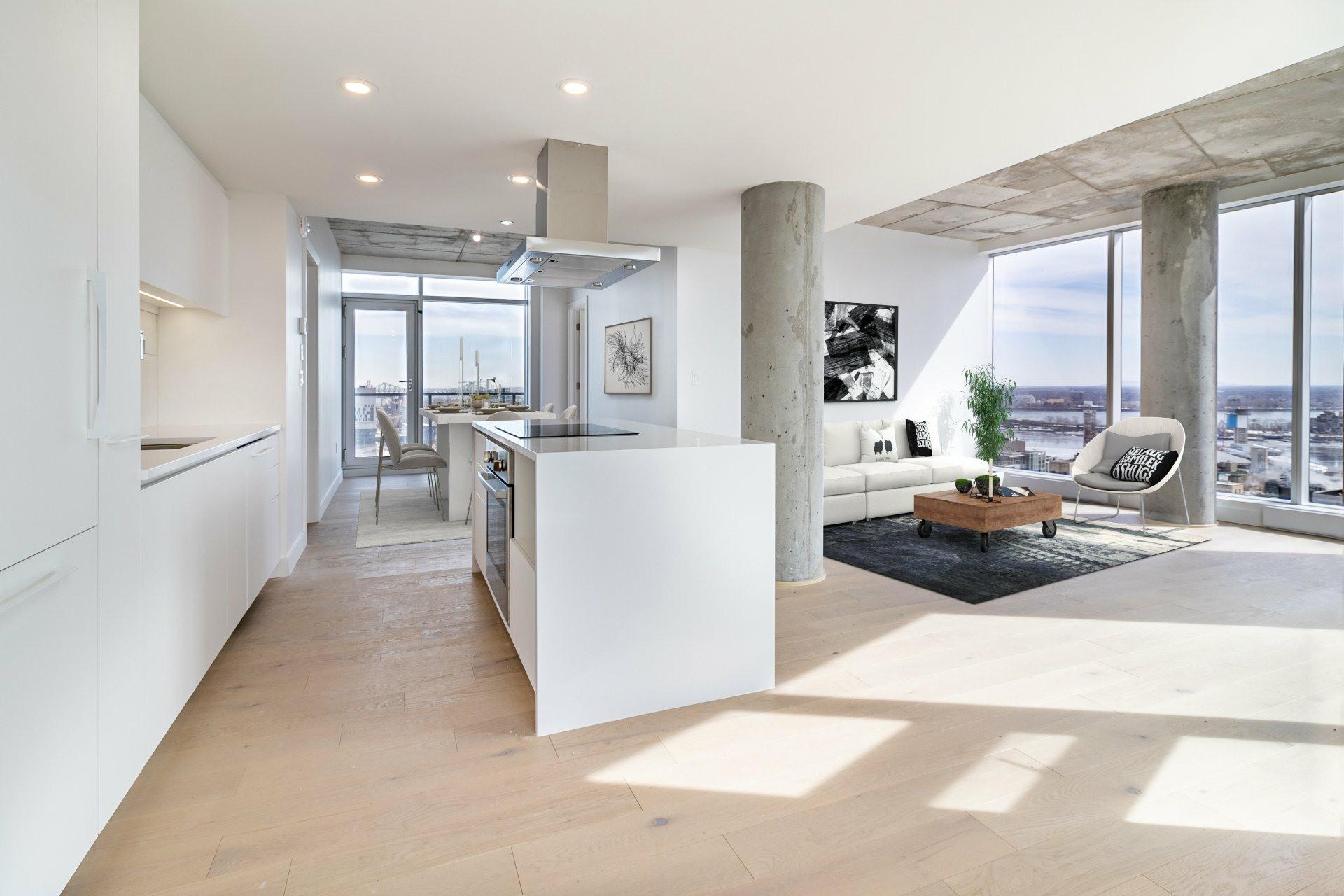 image 1 - Apartment For sale Ville-Marie Montréal  - 9 rooms