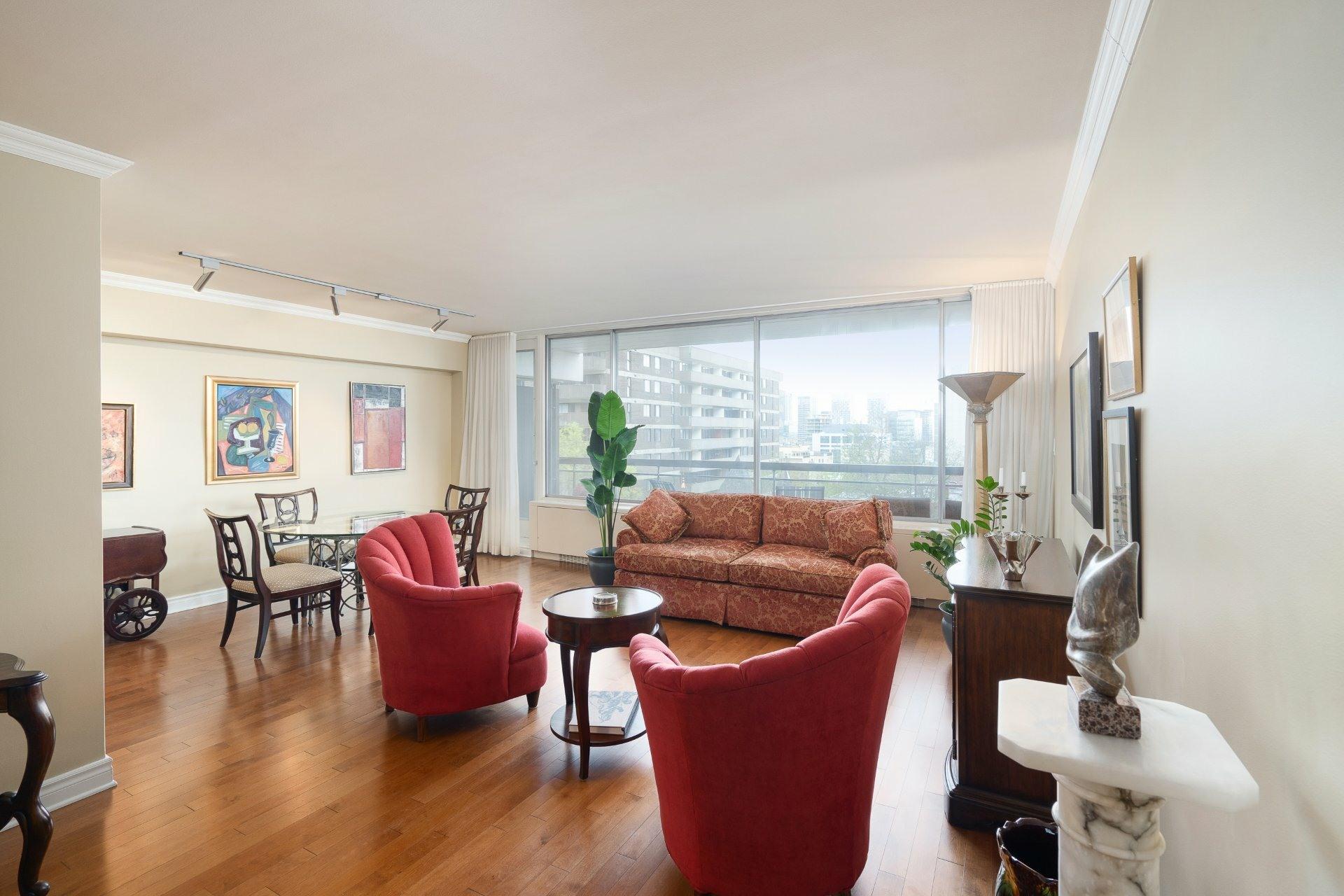 image 2 - Apartment For sale Ville-Marie Montréal  - 4 rooms