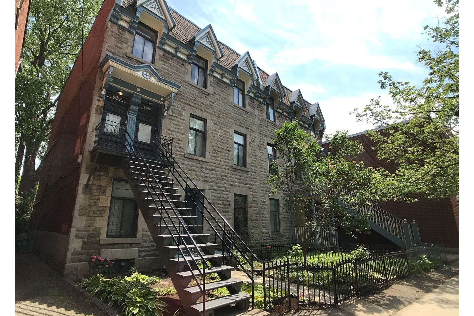 image 22 - Triplex For sale Le Sud-Ouest Montréal  - 5 rooms