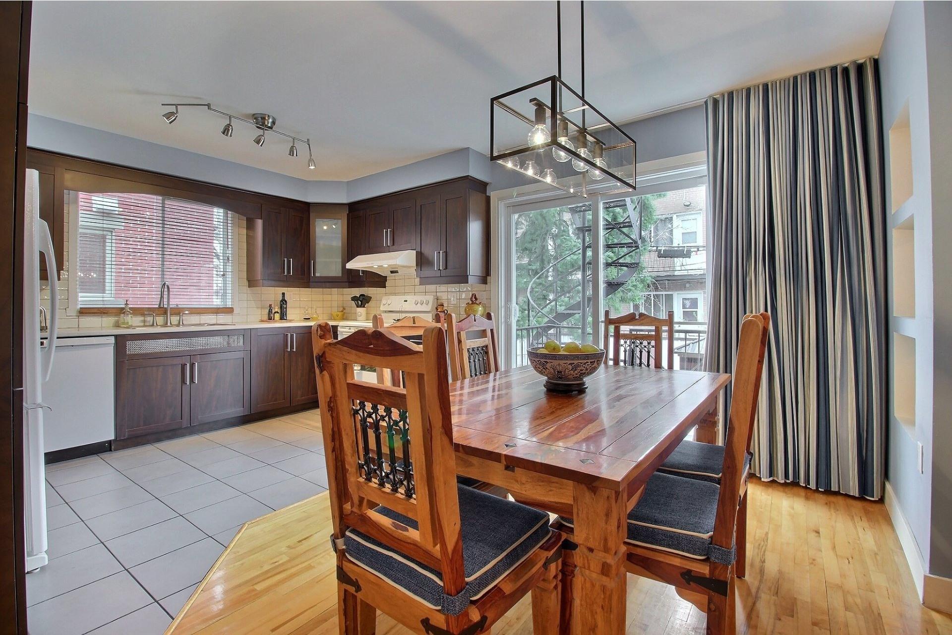 image 3 - Duplex For sale Rosemont/La Petite-Patrie Montréal  - 11 rooms