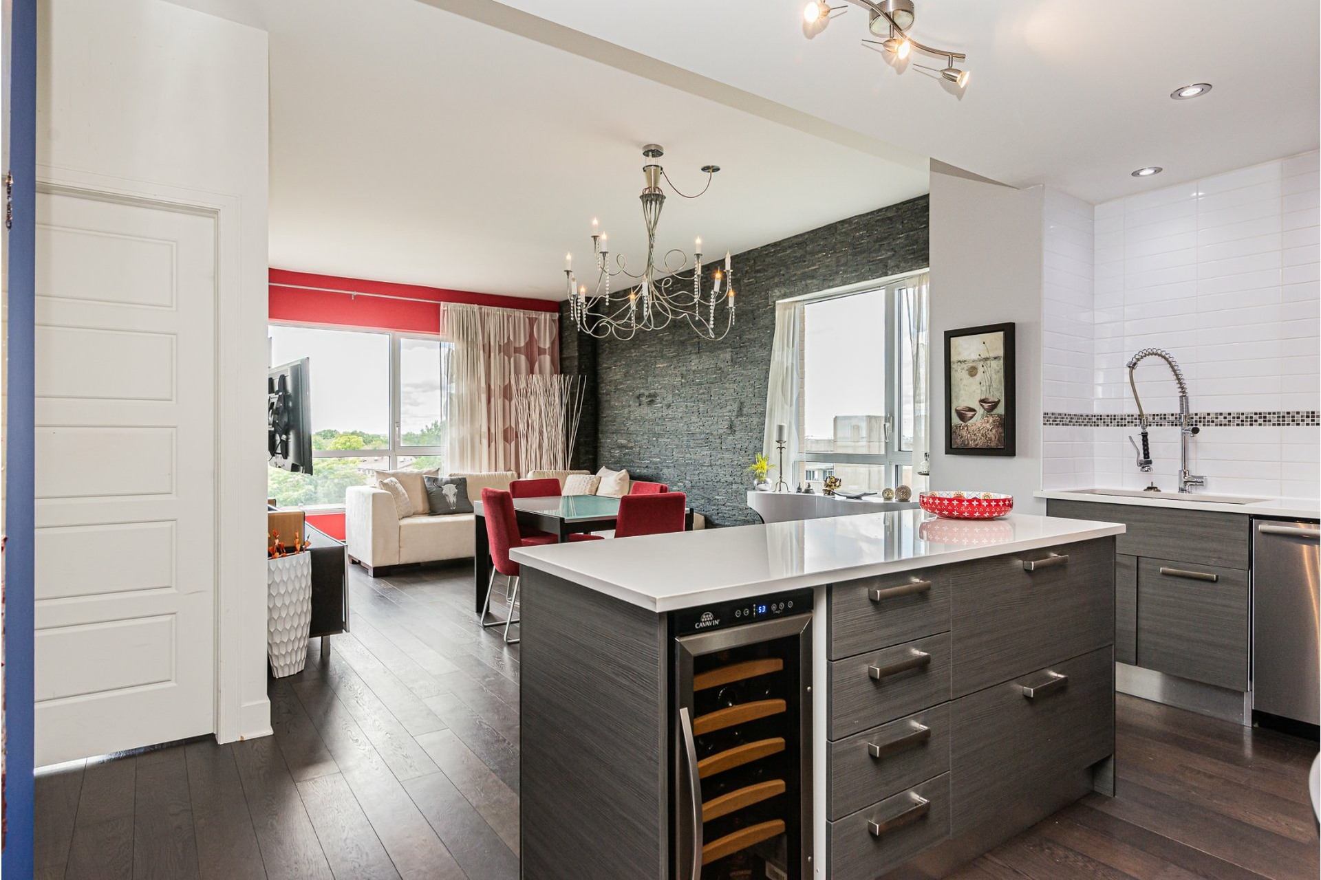 image 3 - Apartment For sale Dorval - 7 rooms