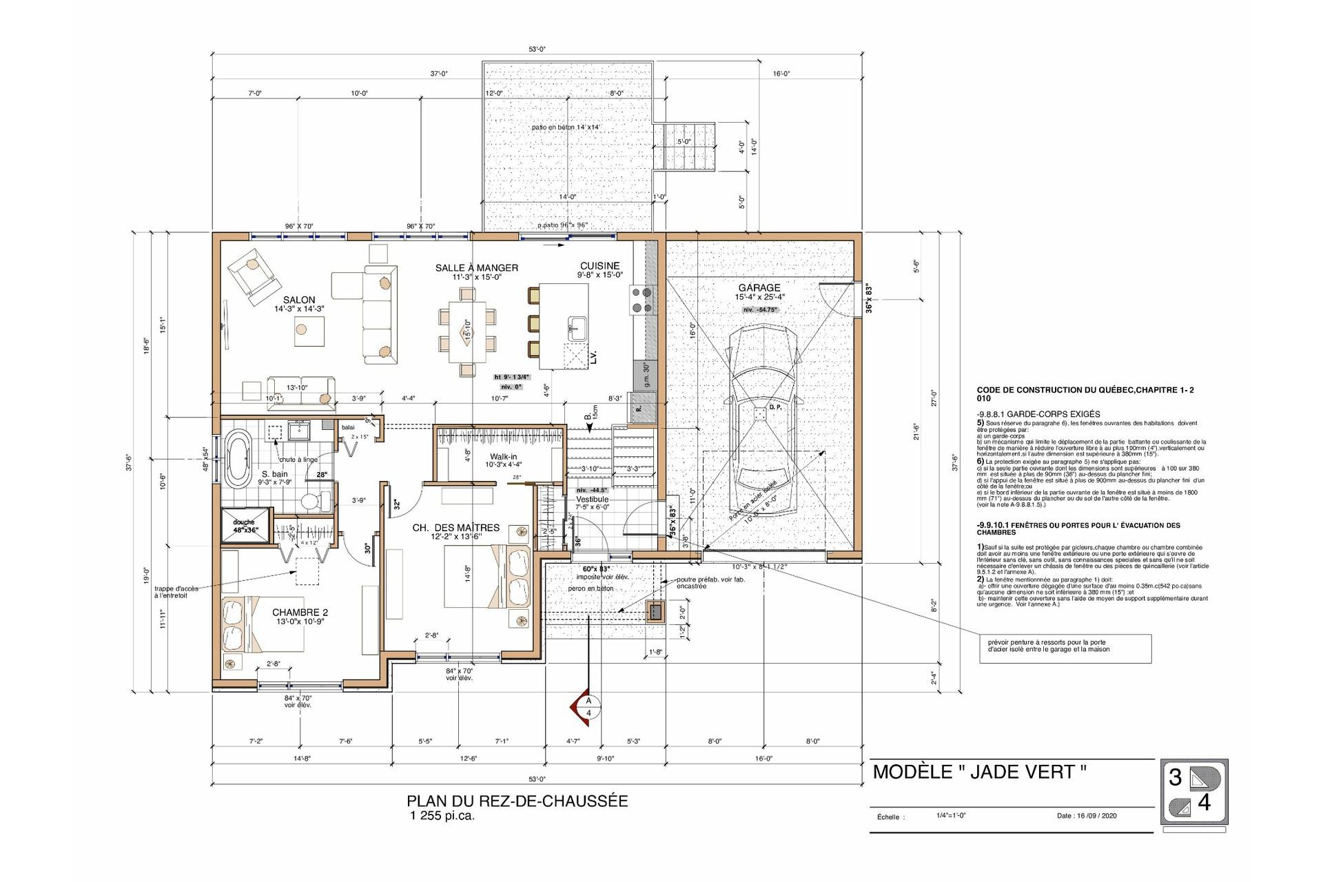 image 2 - House For sale Saint-Jean-de-Matha - 12 rooms