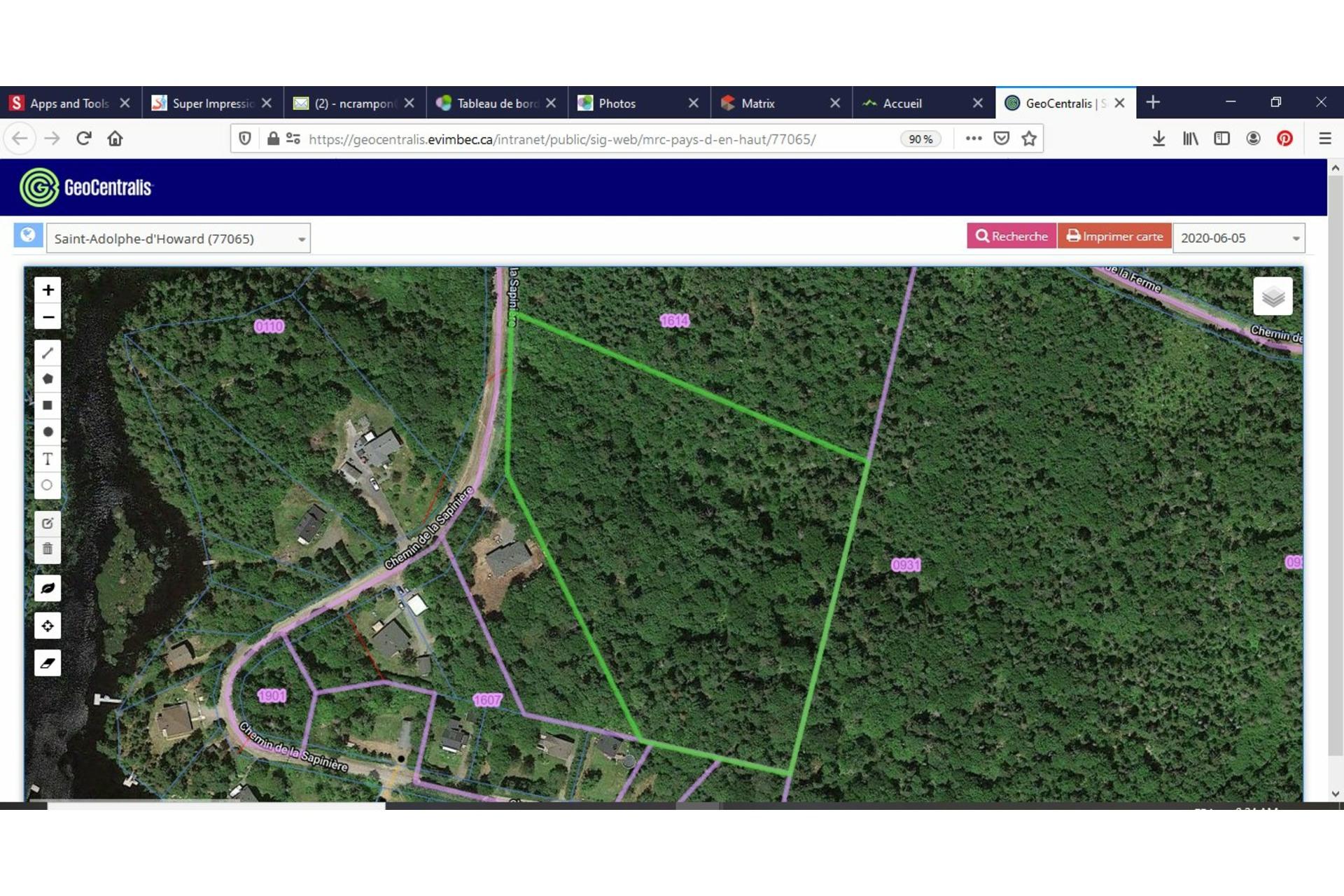 image 11 - Land For sale Saint-Adolphe-d'Howard