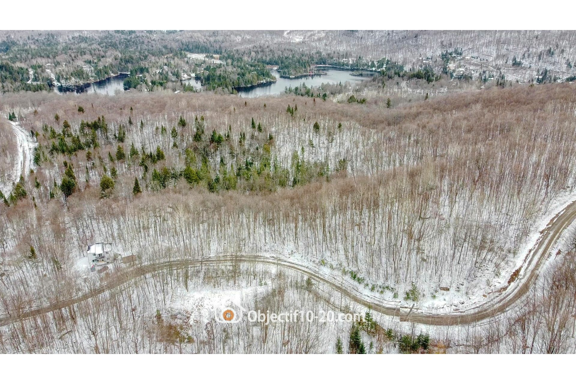 image 2 - Land For sale Saint-Adolphe-d'Howard