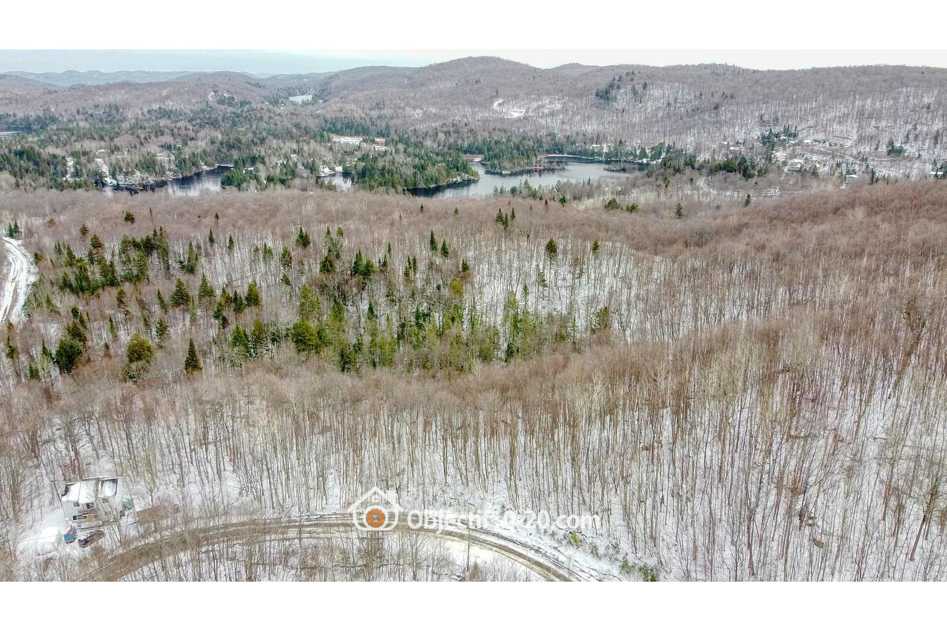 image 0 - Land For sale Saint-Adolphe-d'Howard
